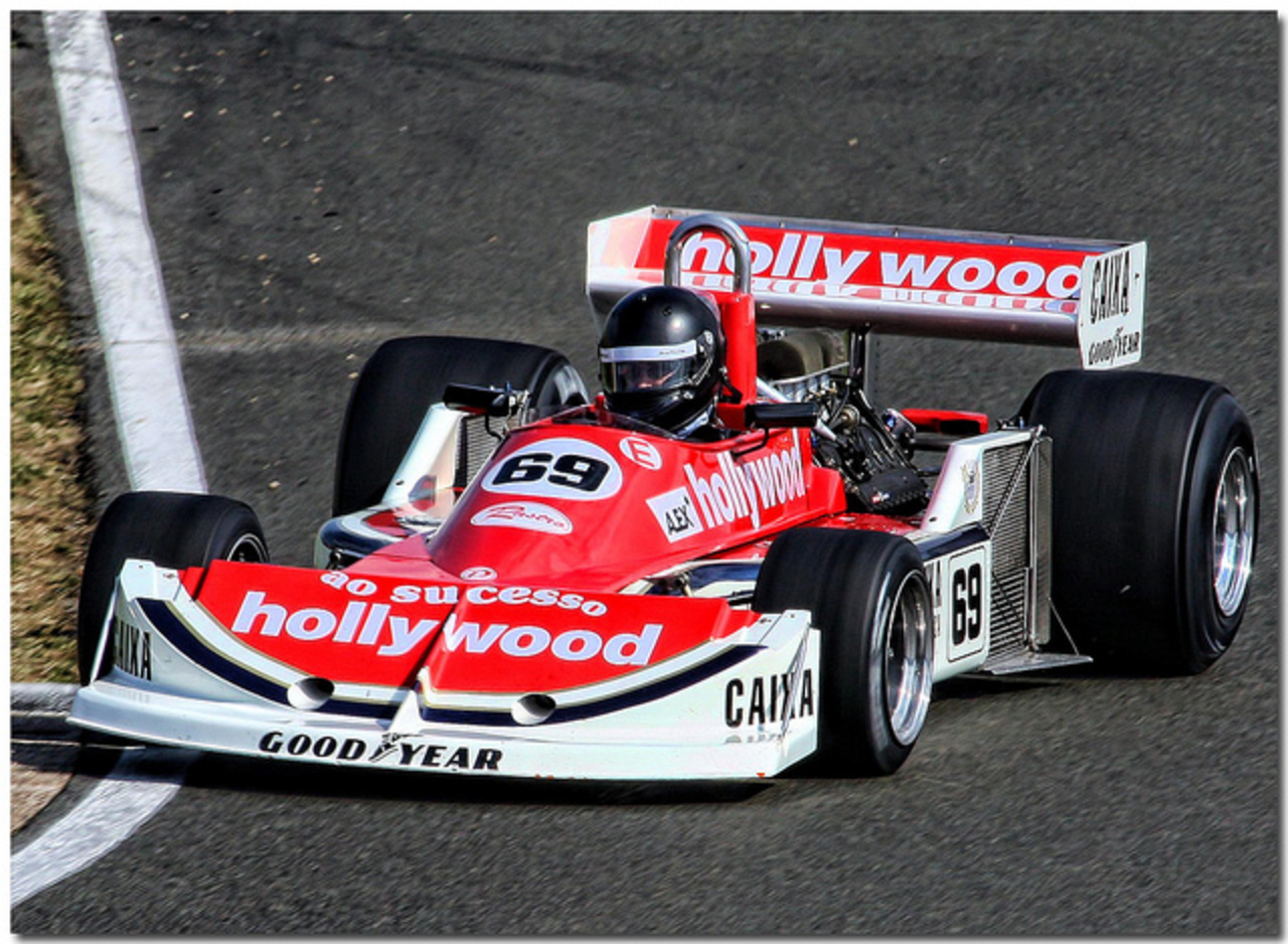 "1977 ""Hollywood"" March 761 Ford Cosworth F1. Silverstone Classic ..."