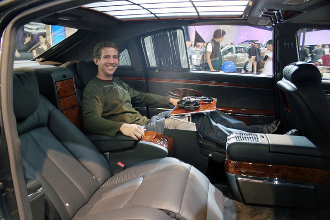 Sitting inside a Maybach 62 | Flickr - Photo Sharing!