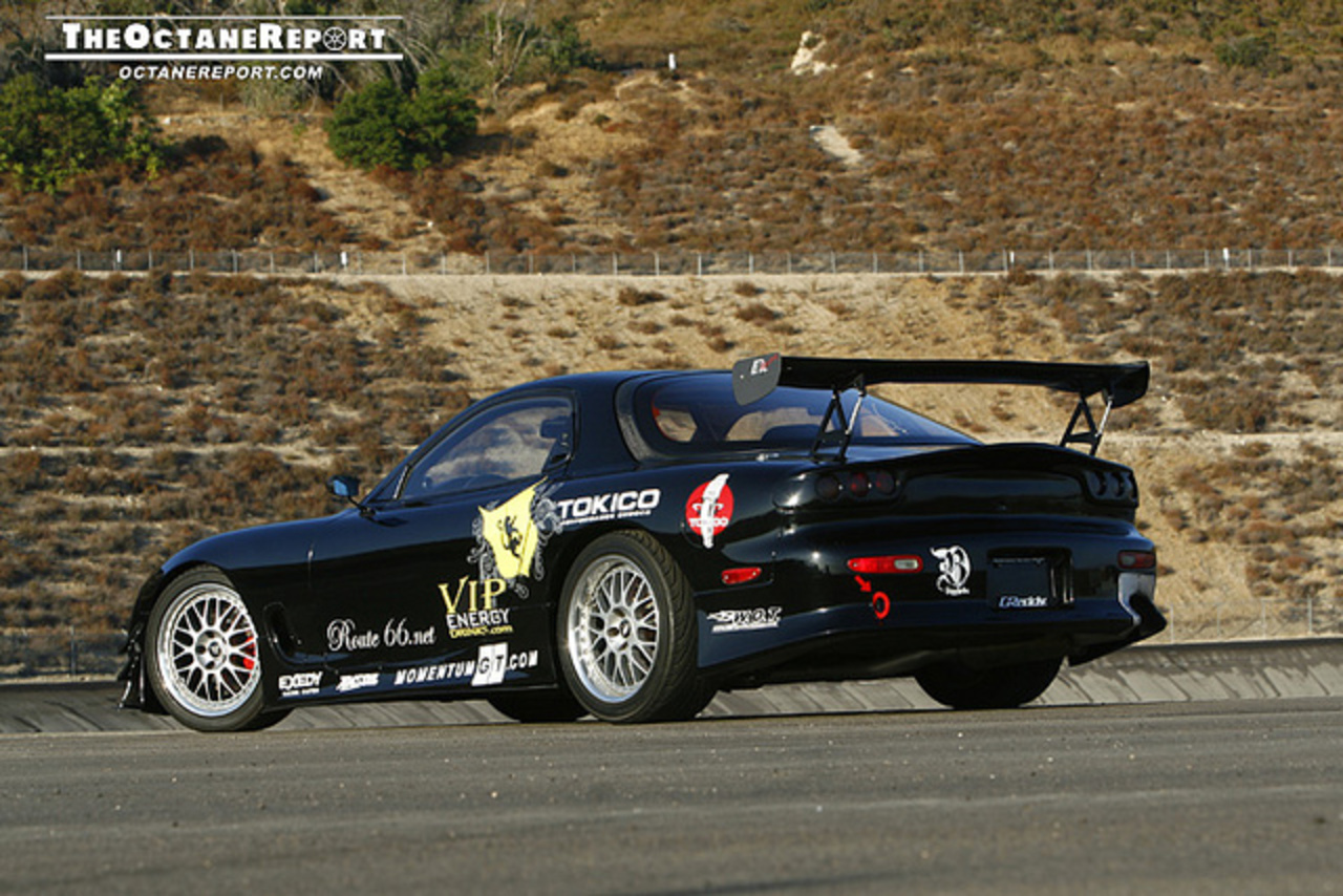 FD3S Mazda RX-7 Turbo Track Car Feature | Flickr - Photo Sharing!