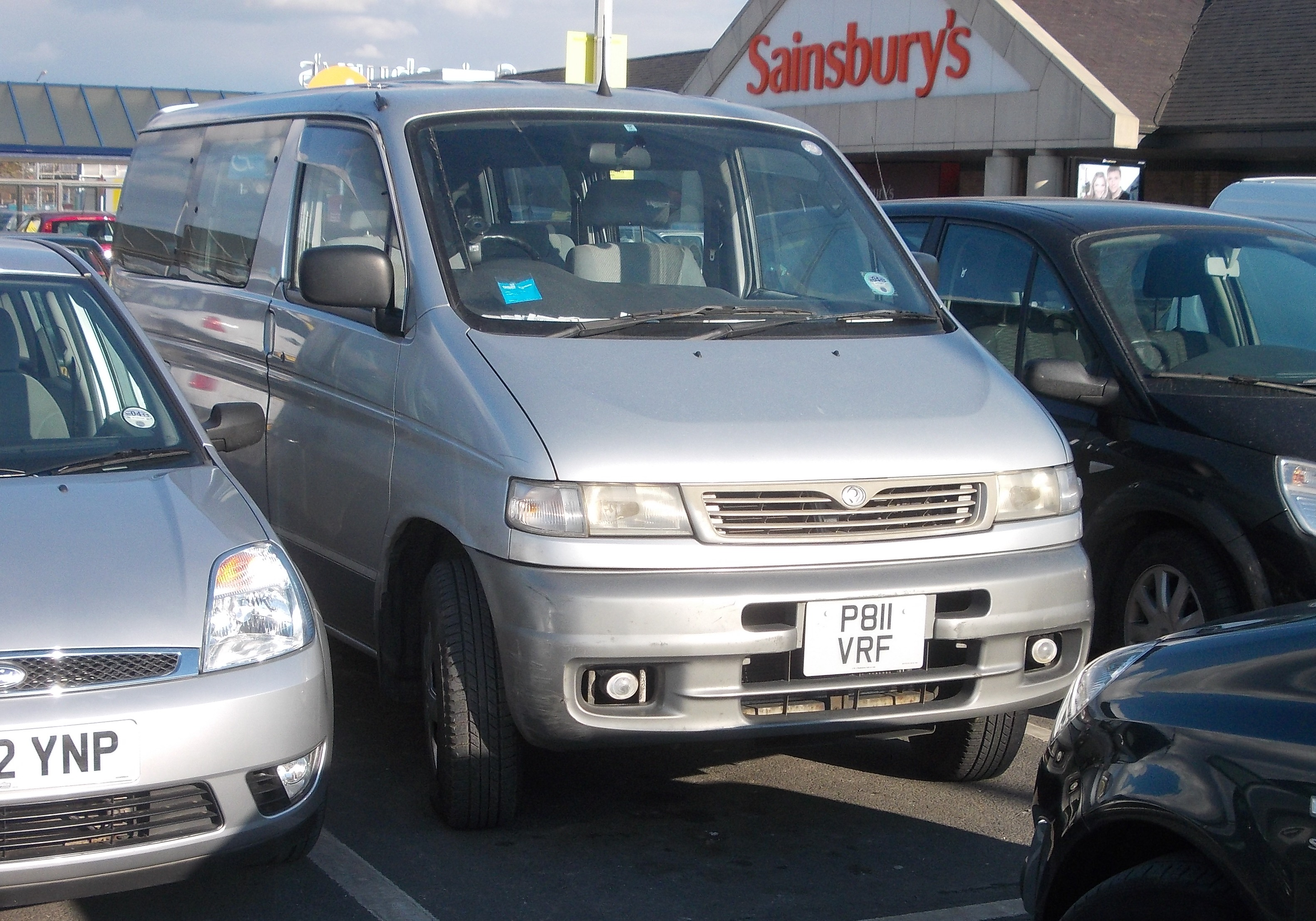 1996 Mazda Bongo Friendee 4WD | Flickr - Photo Sharing!