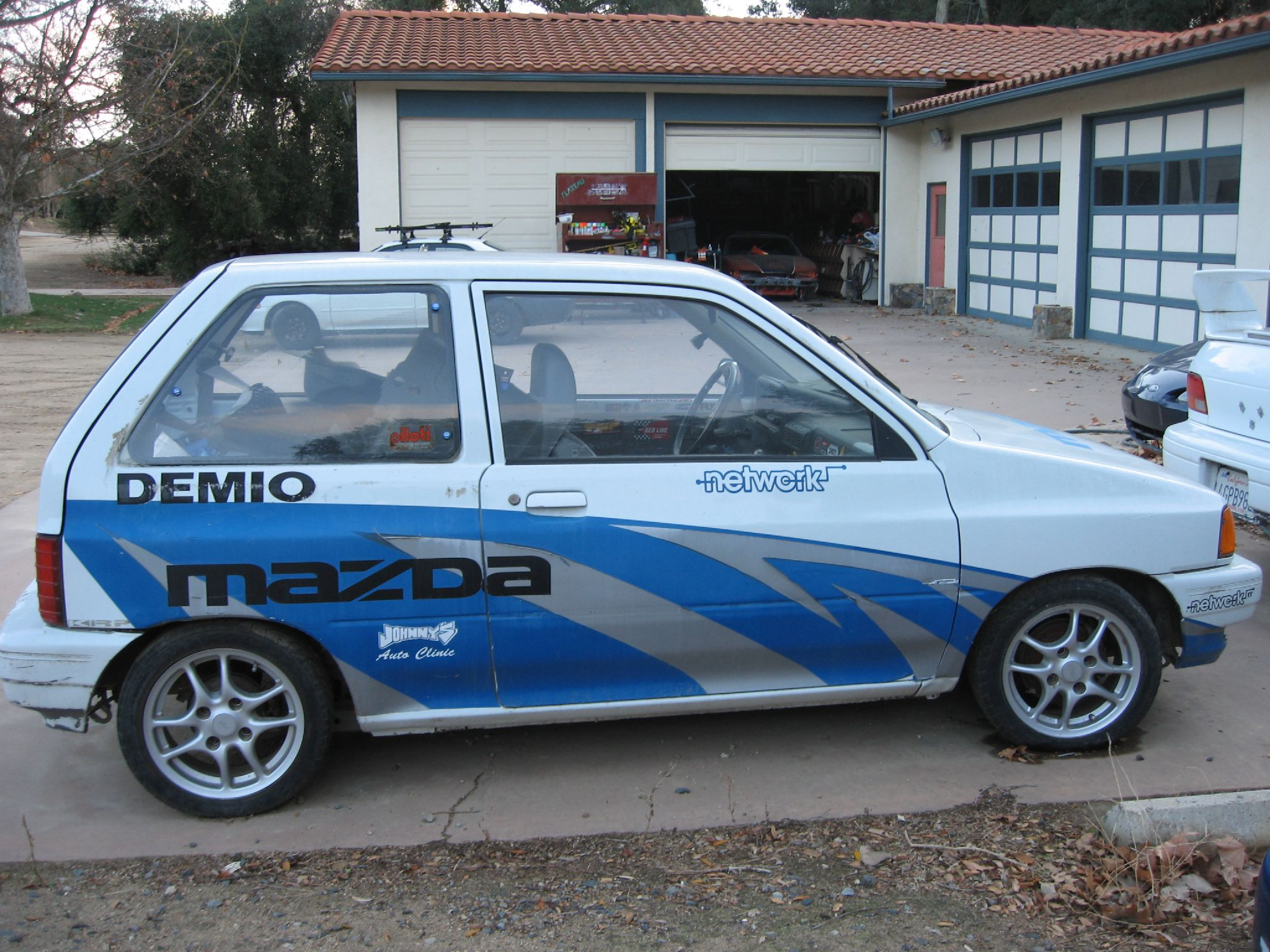 "TMRm'zine ""FESTER"" MAZDA DEMIO / FORD FESTIVA 