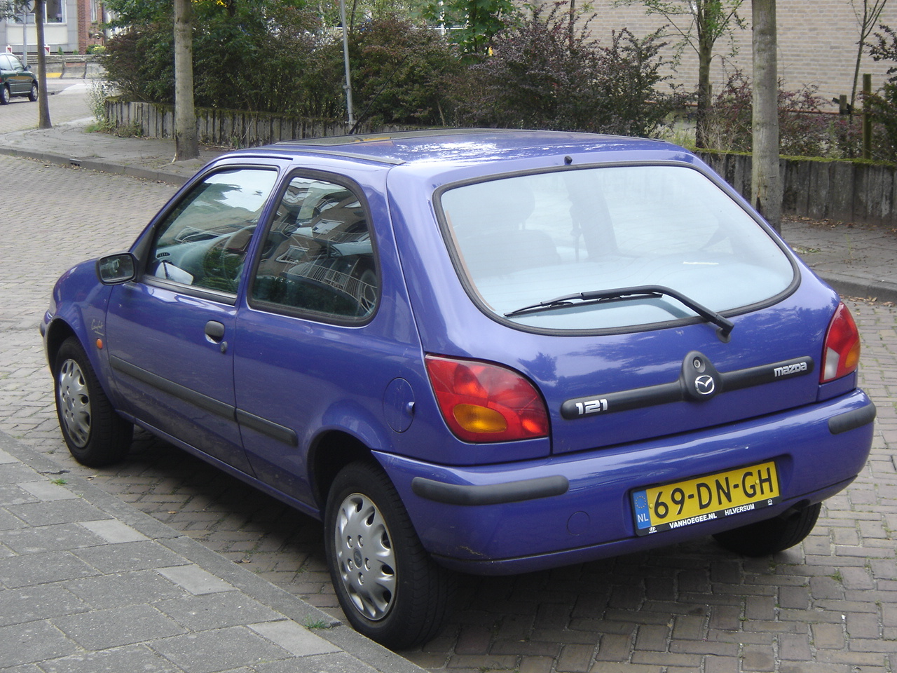 Hilversum: 1999 Mazda 121 | Flickr - Photo Sharing!