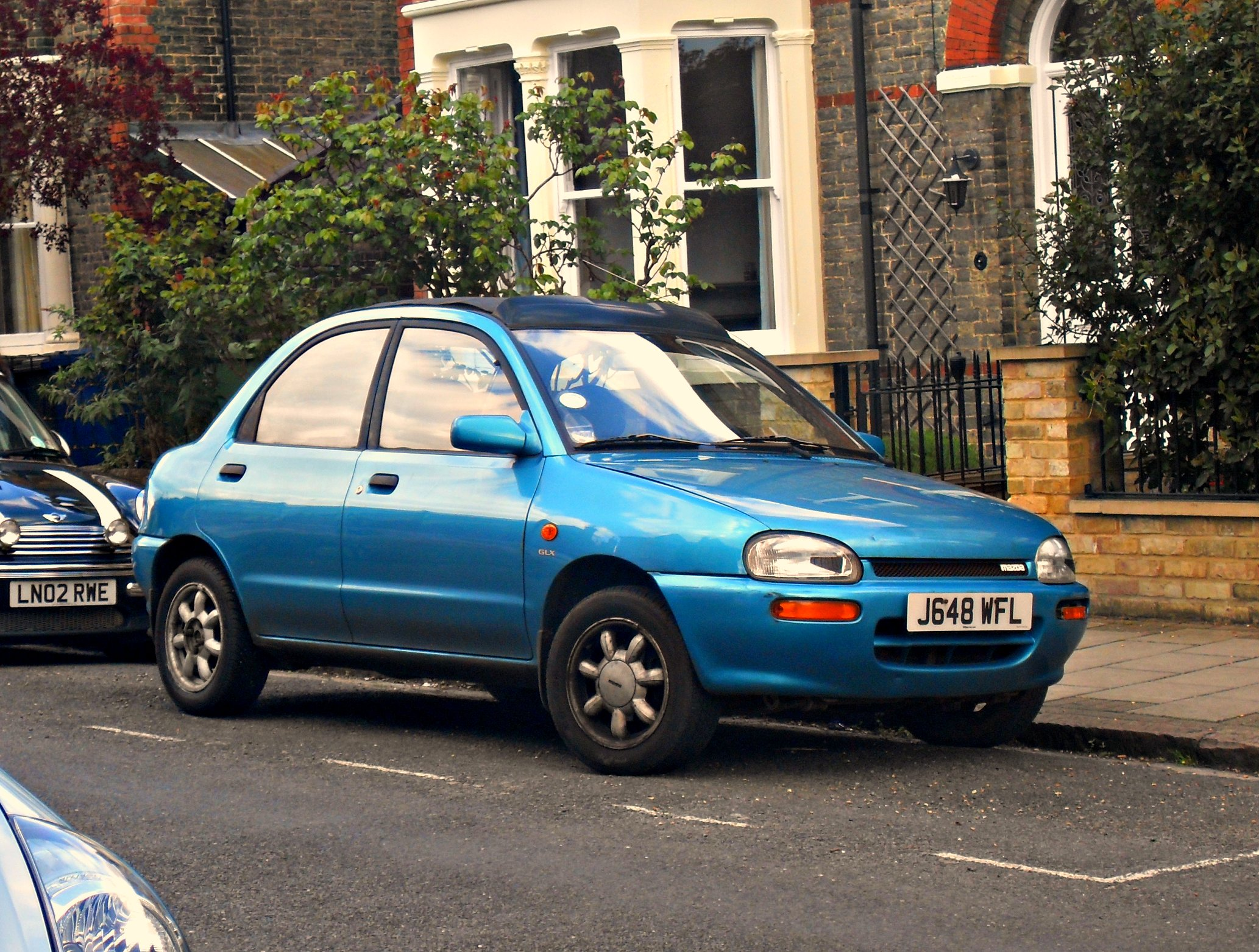 1992 Mazda 121 1.3 Suntop | Flickr - Photo Sharing!