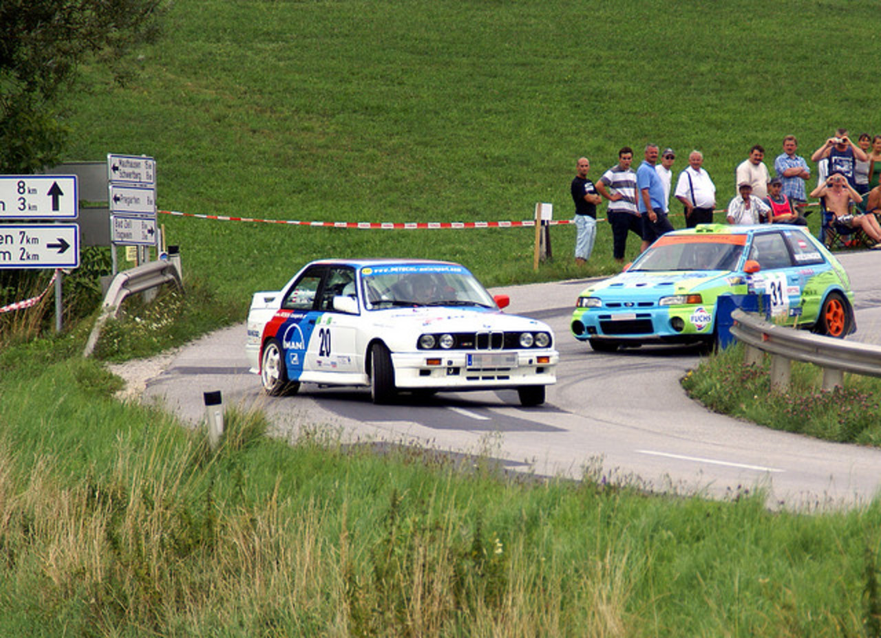 BMW E30 M3 and Mazda 323 GT-R | Flickr - Photo Sharing!
