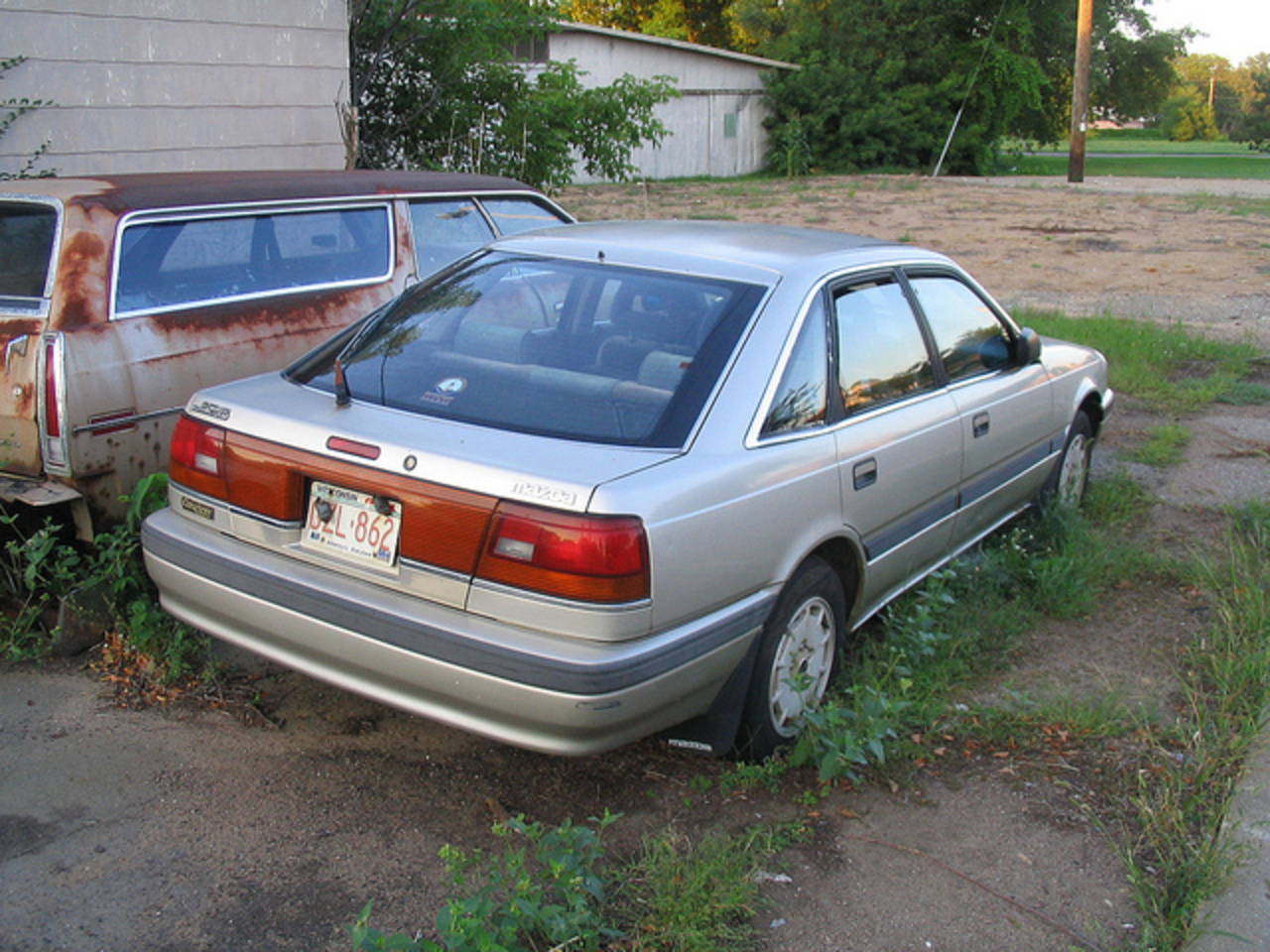 1991 Mazda 626 Touring Sedan | Flickr - Photo Sharing!