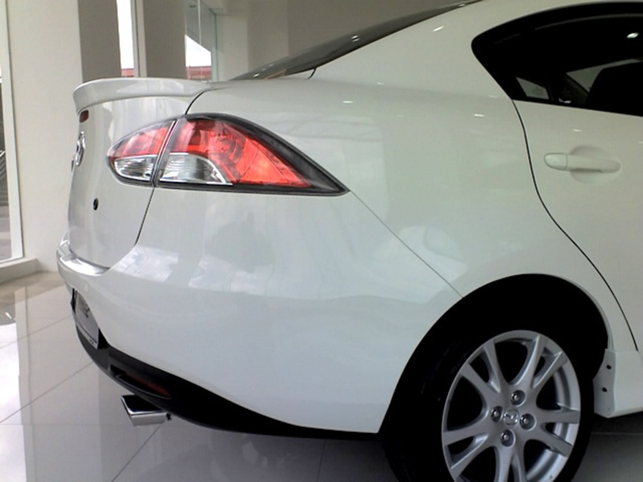 Mazda 2 Sedan rear | Flickr - Photo Sharing!