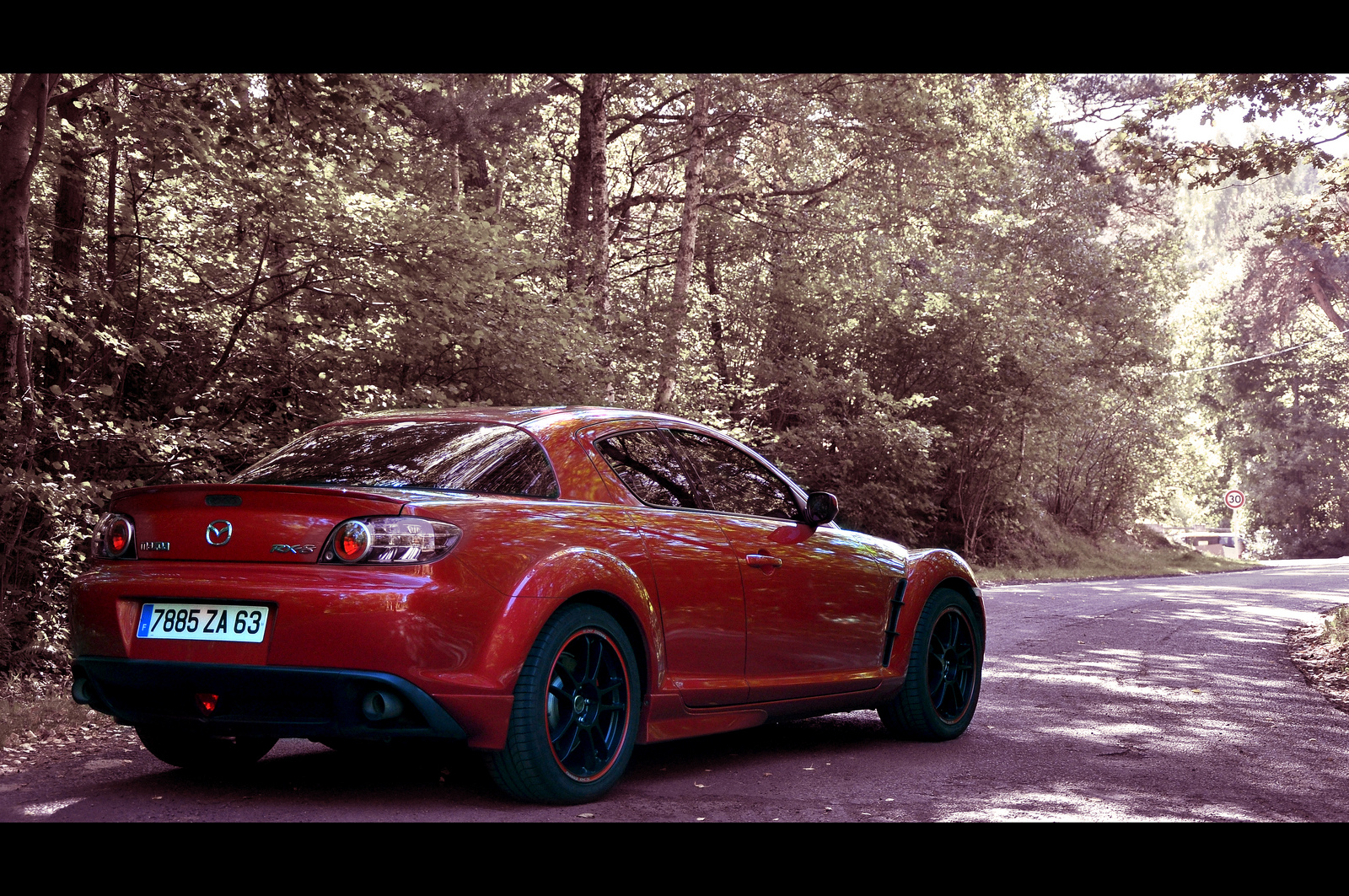 mazda rx8 octobre velocity red | Flickr - Photo Sharing!