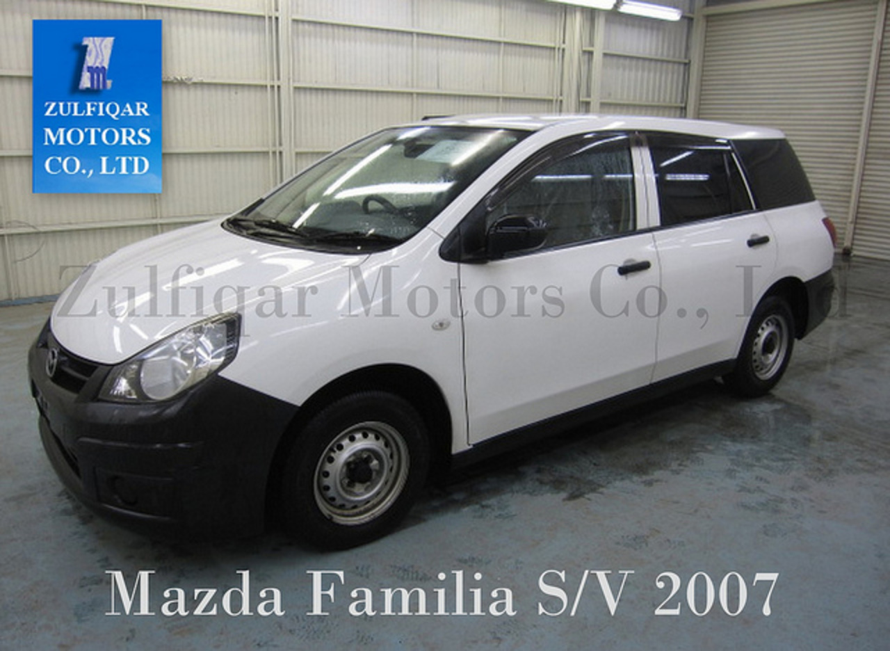 Mazda Familia S/V 2007 | Flickr - Photo Sharing!