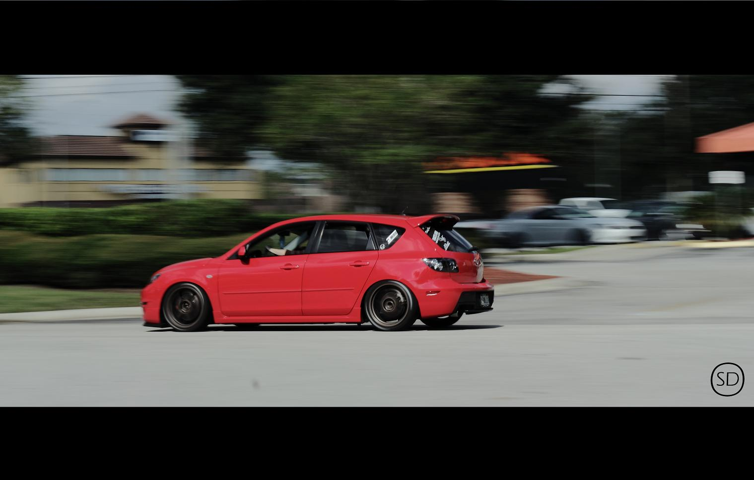 Mazda 3 Hatch Leaving Cars & Coffee | Flickr - Photo Sharing!