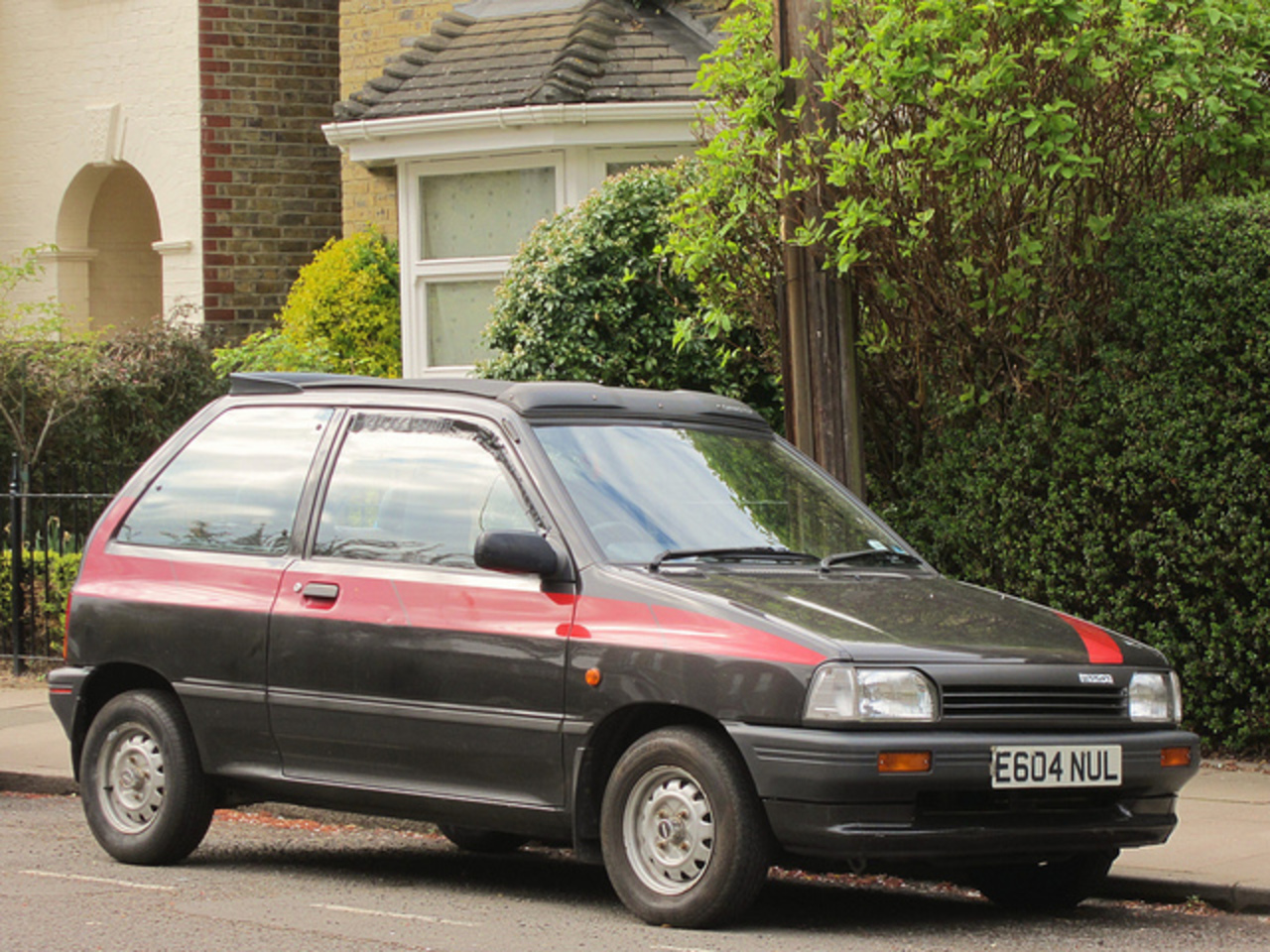 1988 Mazda 121 LX. | Flickr - Photo Sharing!