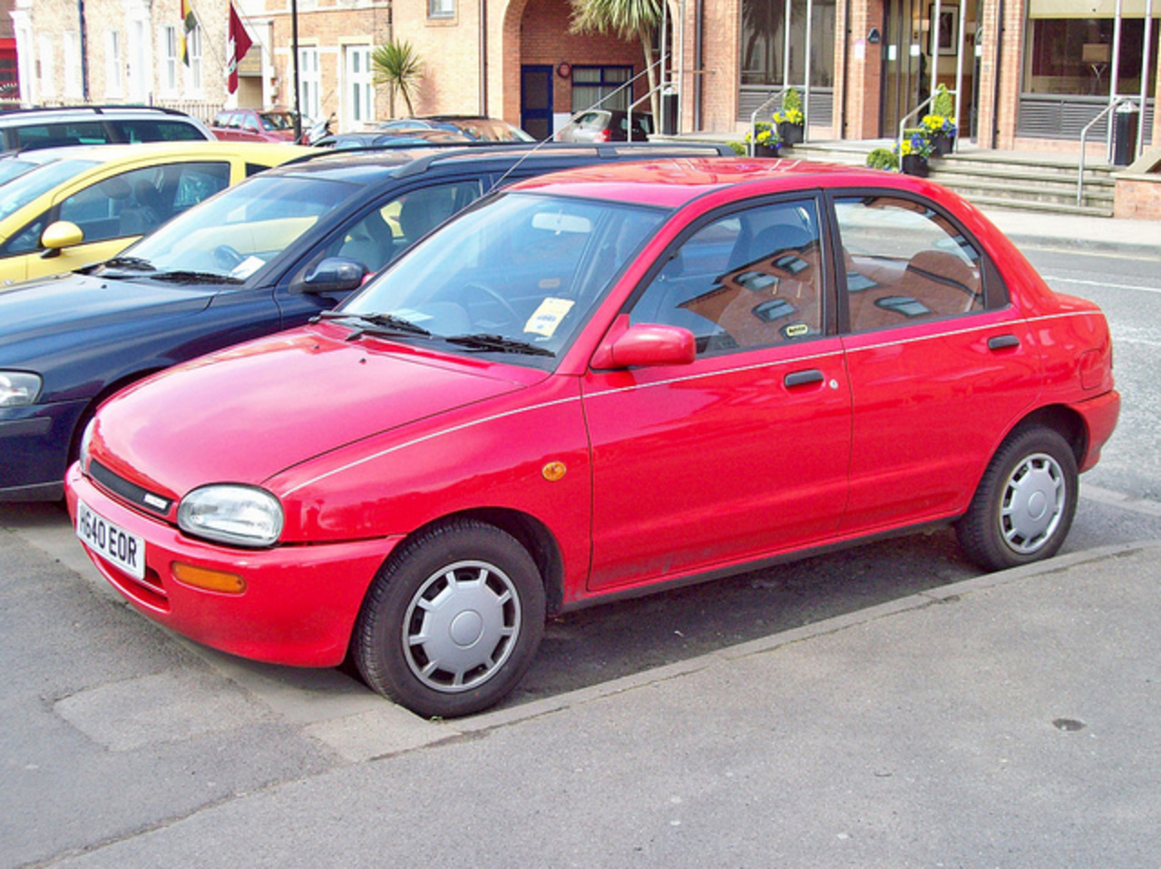 45 Mazda 121 (Top Hat) (1991) | Flickr - Photo Sharing!