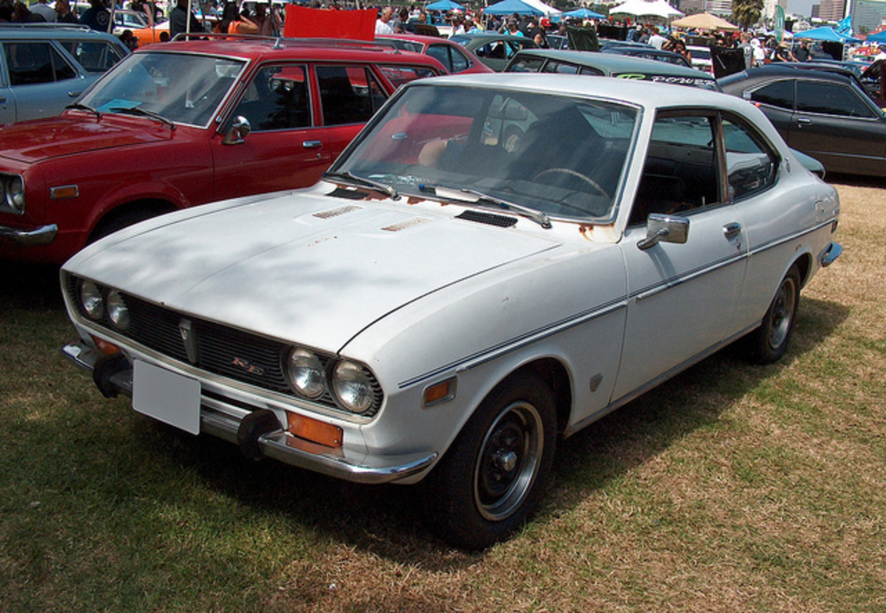 1972 Mazda RX-2 Coupe white front 3q | Flickr - Photo Sharing!