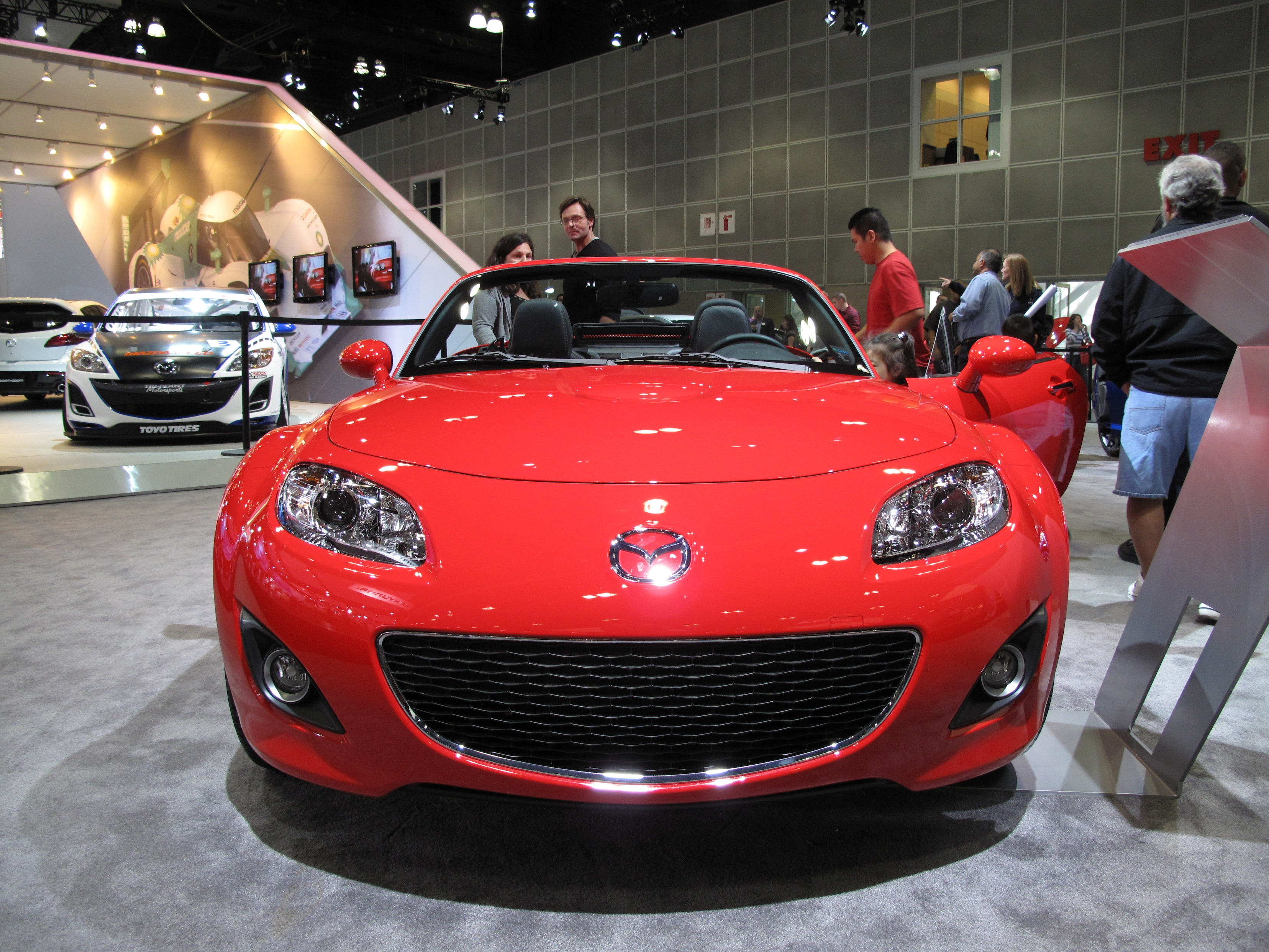 2010 Mazda MX-5 Miata grill | Flickr - Photo Sharing!