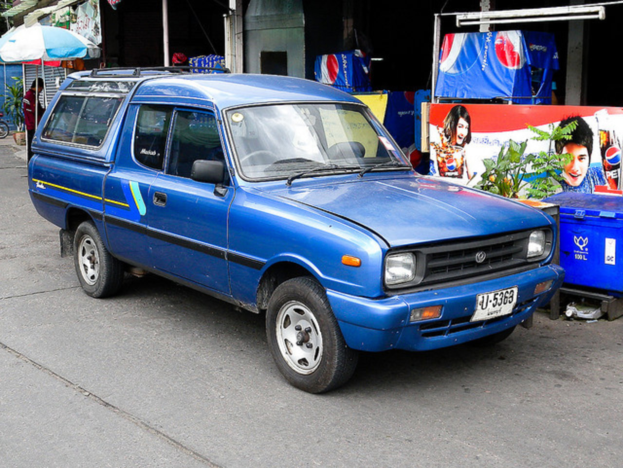 Mazda Familia Truck | Flickr - Photo Sharing!