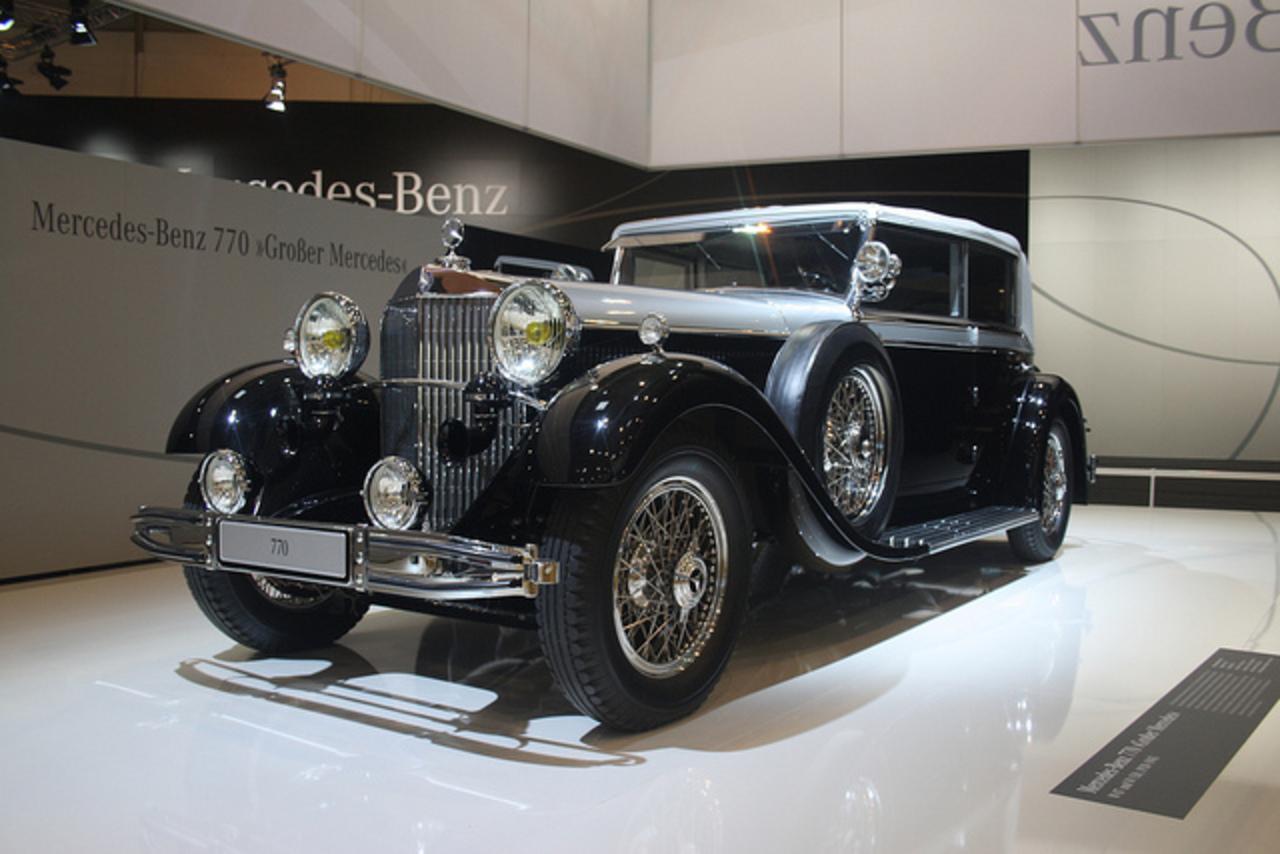 TopWorldAuto >> Photos of Mercedes-Benz 770 - photo galleries