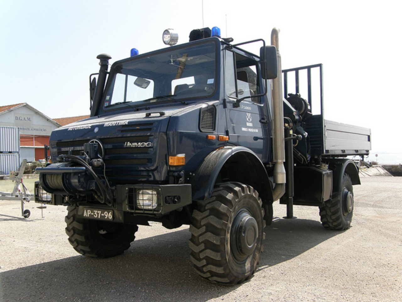 TopWorldAuto >> Photos of Mercedes-Benz Unimog U5000 ...