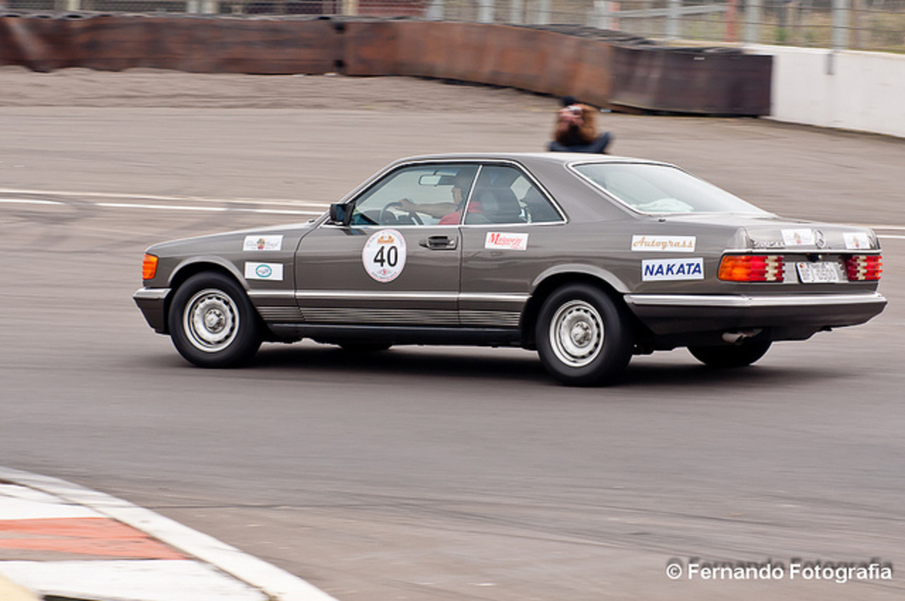 Mercedes Benz 500 SEC (1982) XI Rally Classic Car Club / Velopark ...