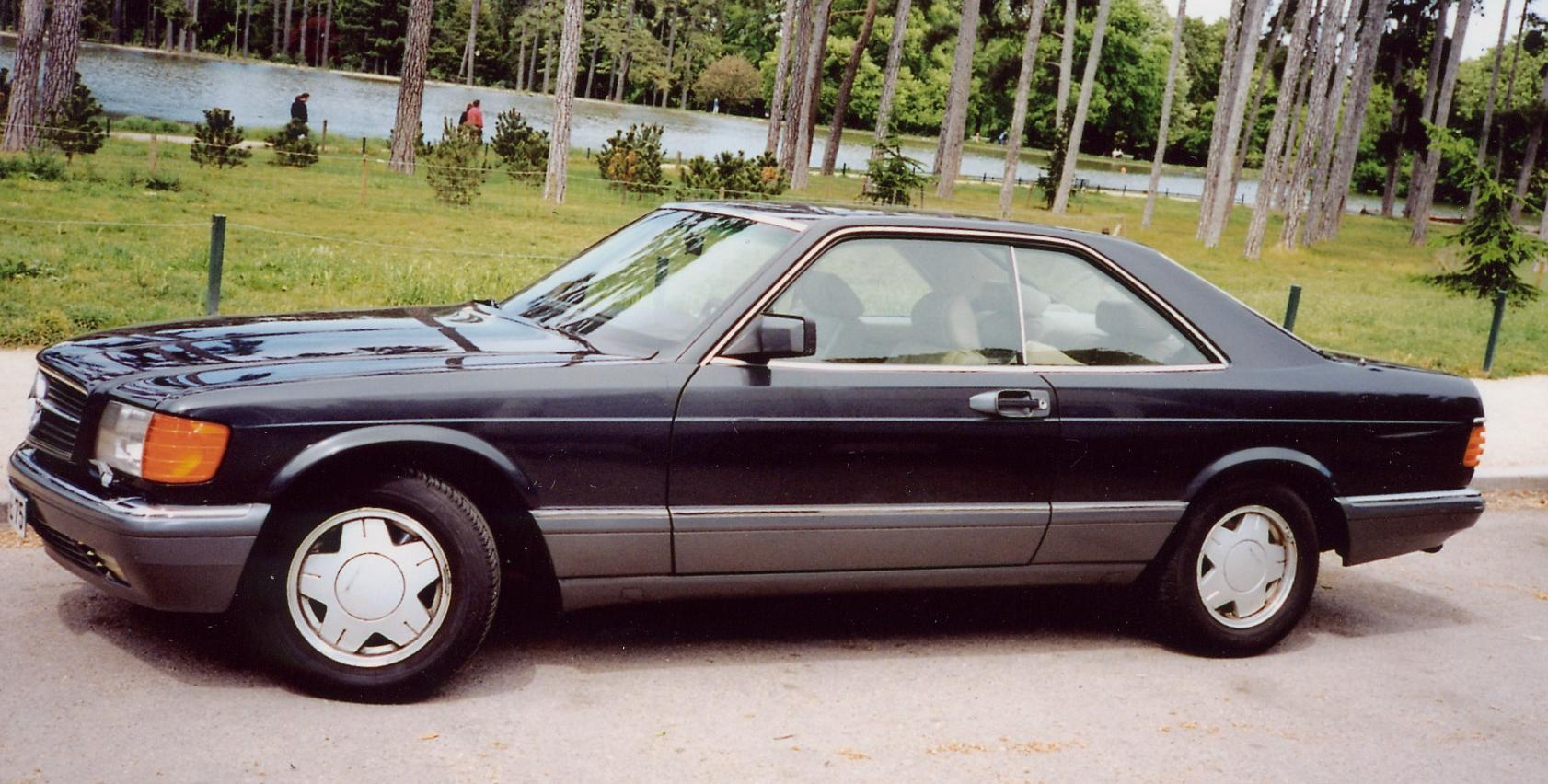 File:1986-1991 Mercedes-Benz 560 SEC (C126) coupe 01.jpg ...