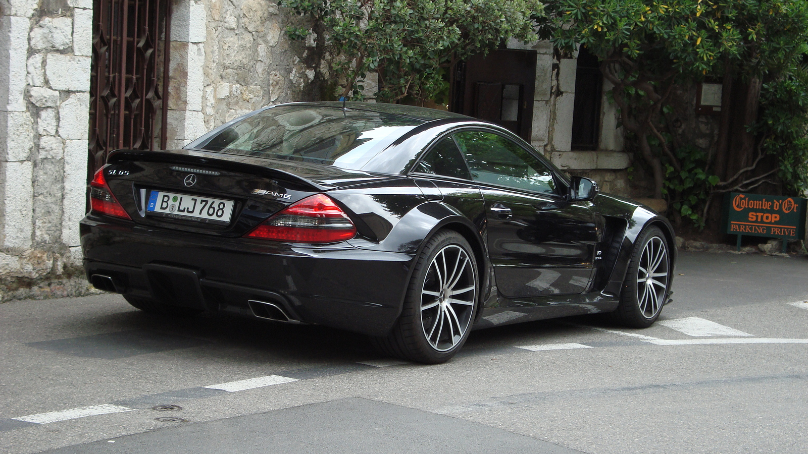 Mercedes-Benz SL 65 AMG Black Series | Flickr - Photo Sharing!