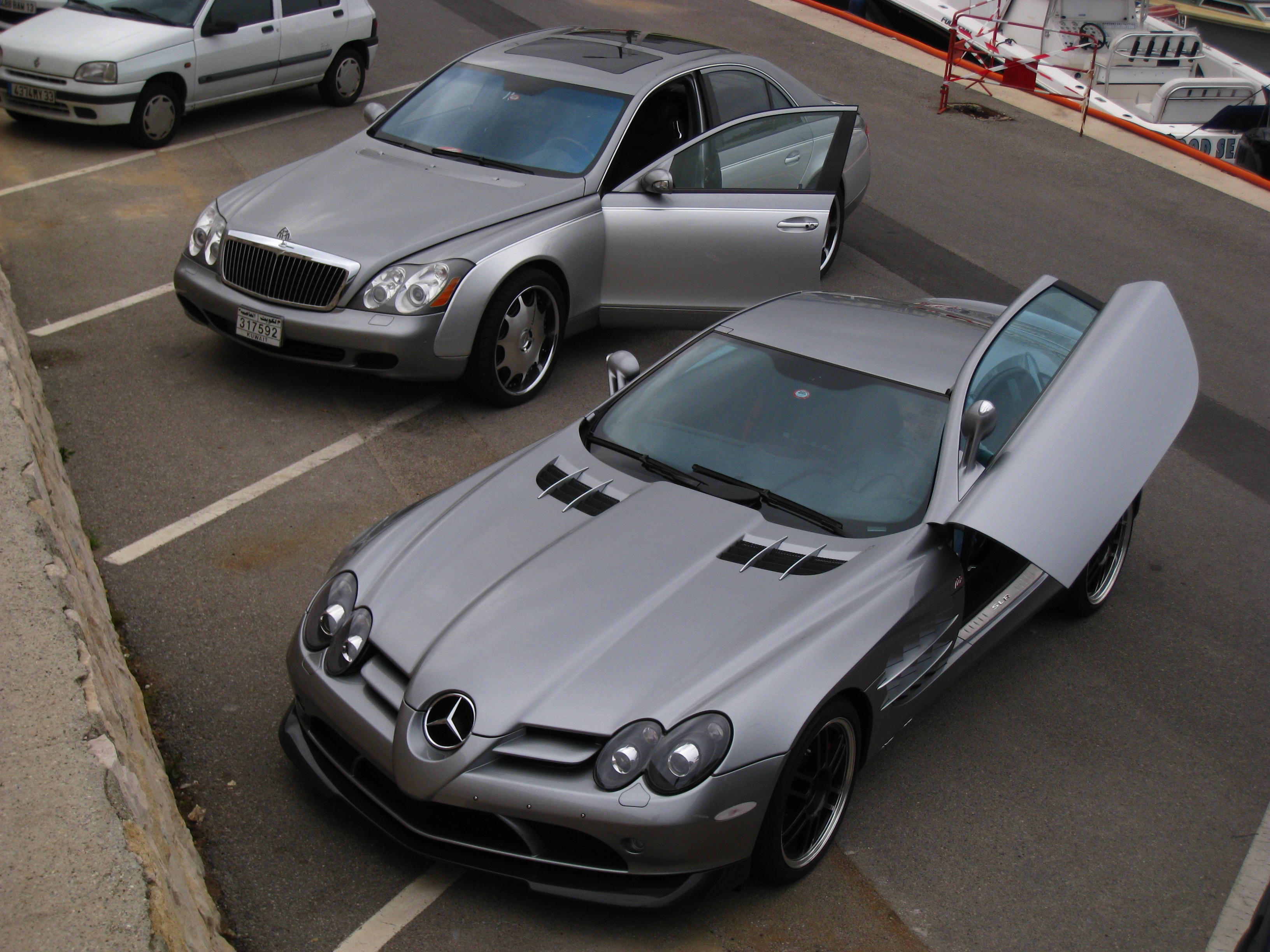 Mercedes-Benz SLR McLaren 722 Edition and Maybach from Kuwait ...