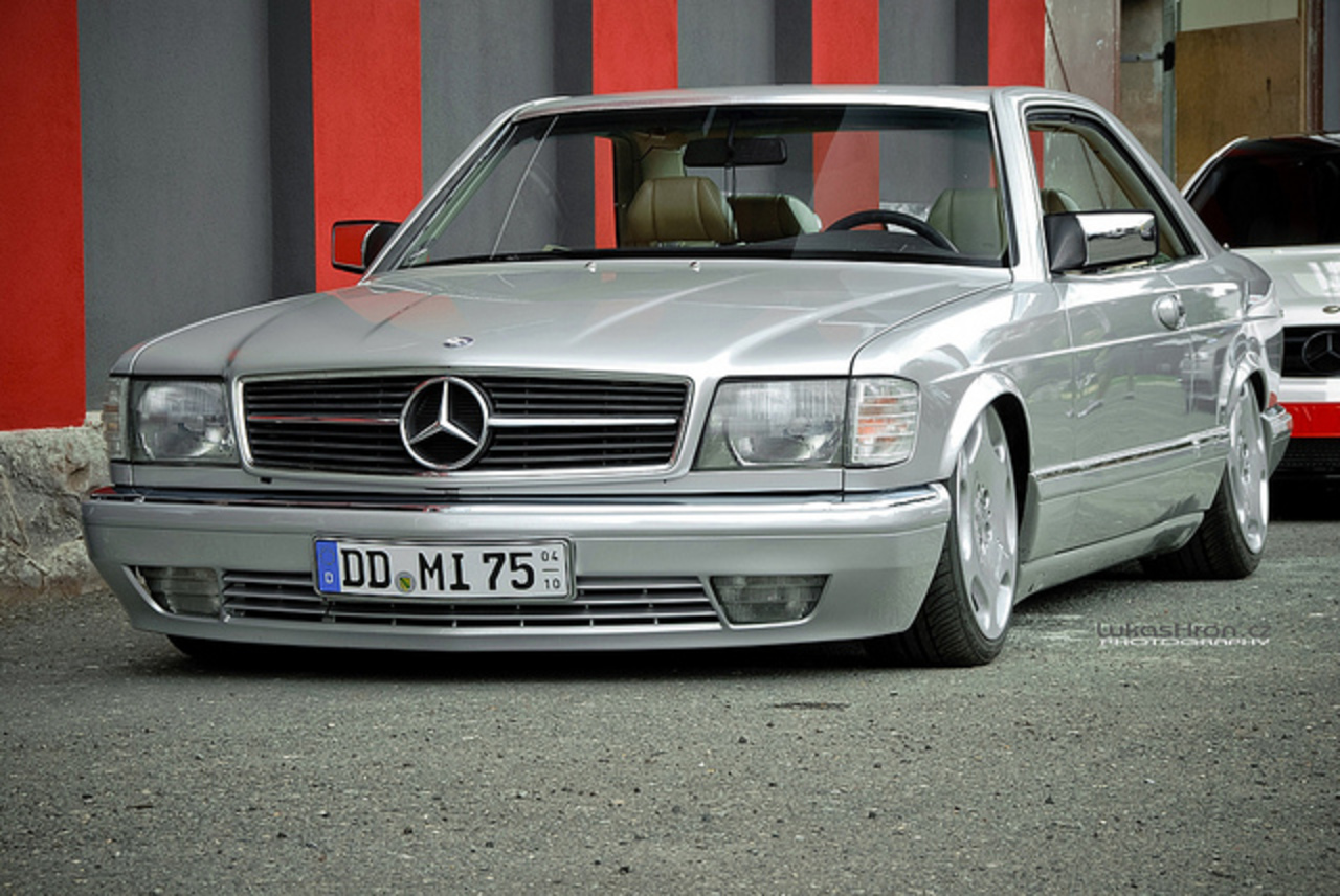 XS MAG OfficeOpeningDay Mercedes-Benz 500 SEC | Flickr - Photo ...