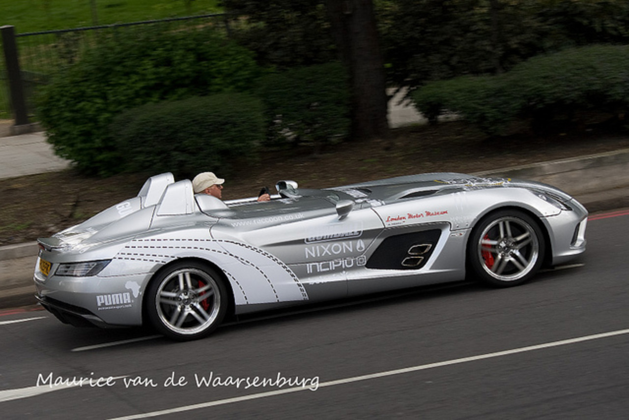 Mercedes Benz SLR Stirling Moss Gumball 3000 | Flickr - Photo Sharing!