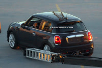 All-New 2014 Mini Cooper S Scooped Completely Undisguised! - Carscoops