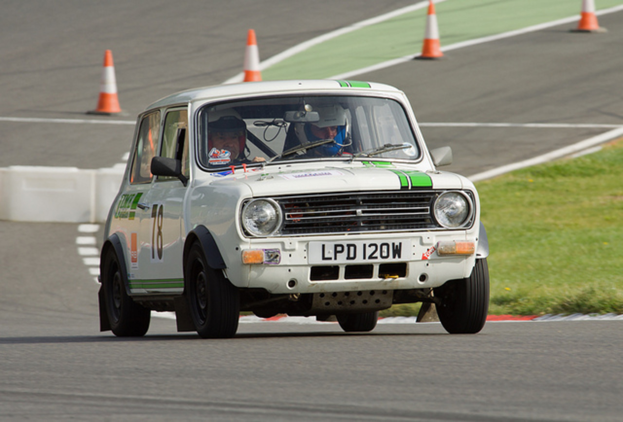 Brands Hatch Summer Stages Layland Mini 1275 GT (Kevin Blackford ...