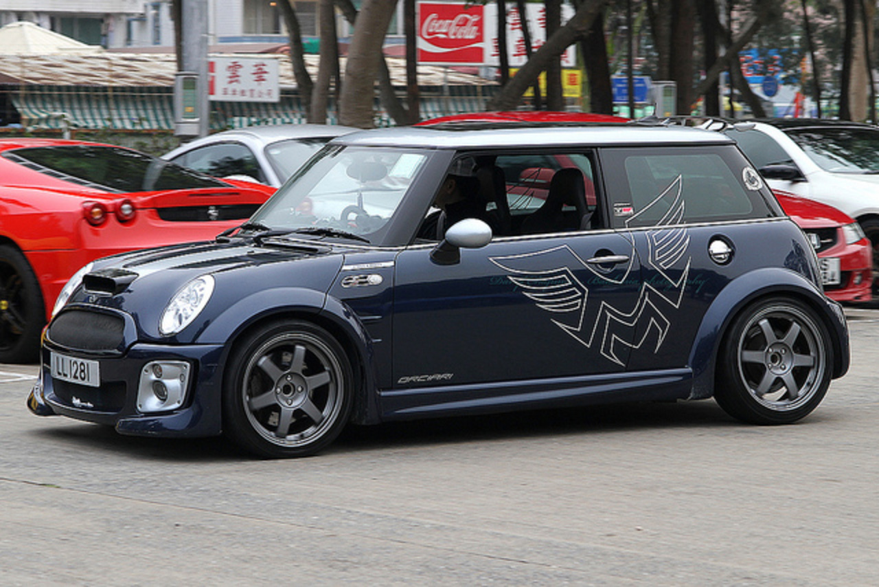 "Mini cooper S *Checkmate* ""LL 1281"" 