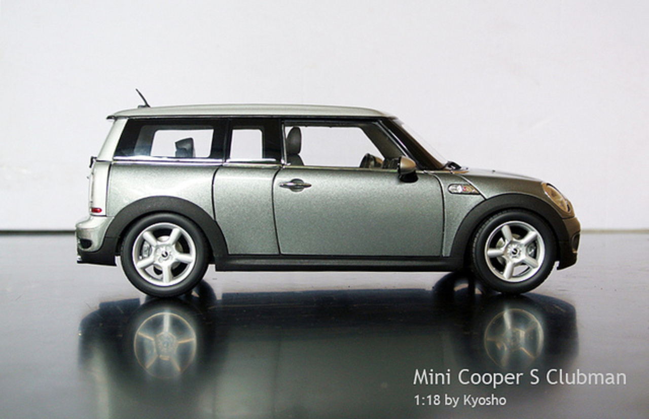 Mini Cooper S Clubman - 1:18 by Kyosho | Flickr - Photo Sharing!