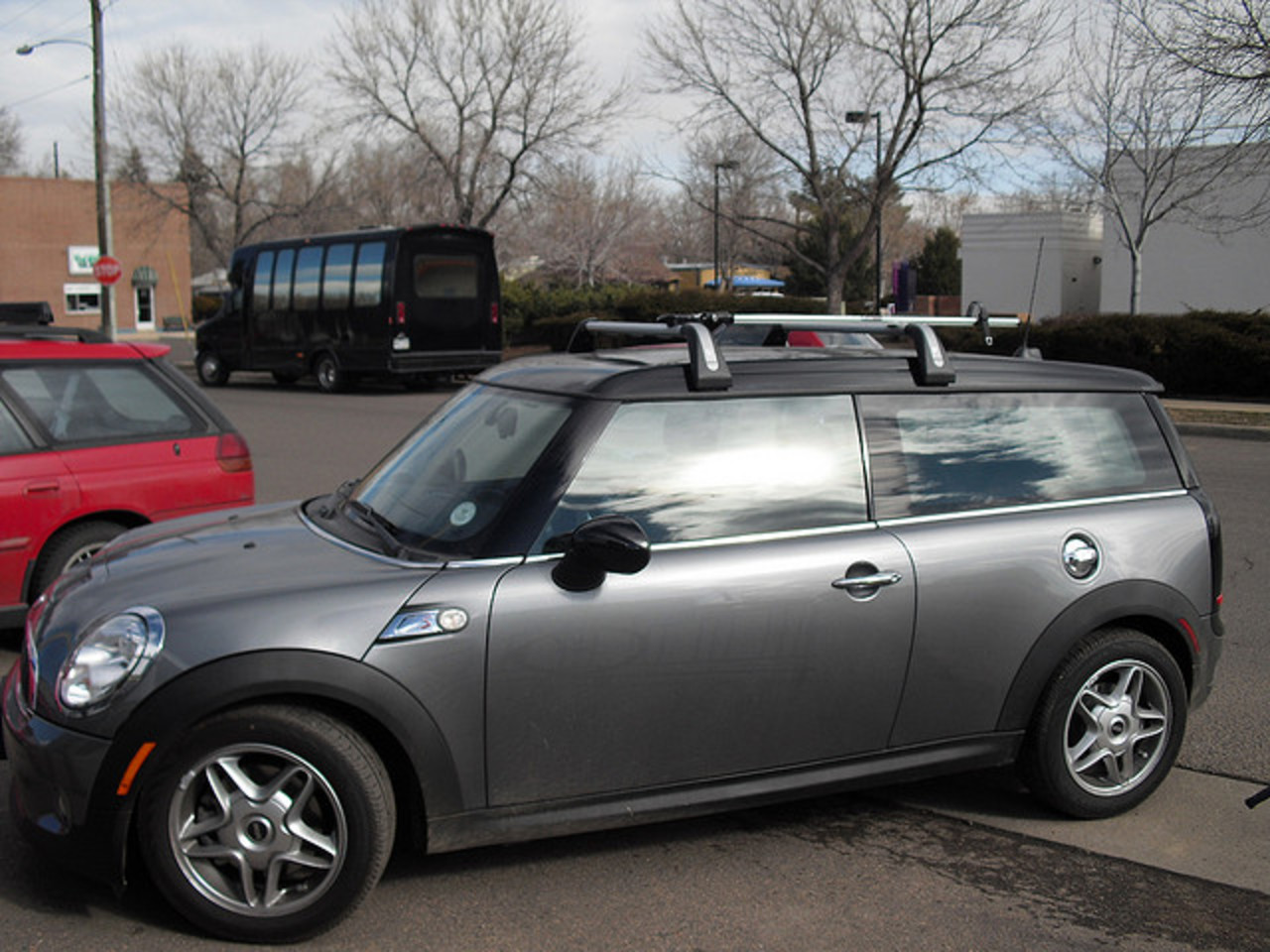 Mini Cooper S Clubman with RockyMounts Bike Rac | Flickr - Photo ...