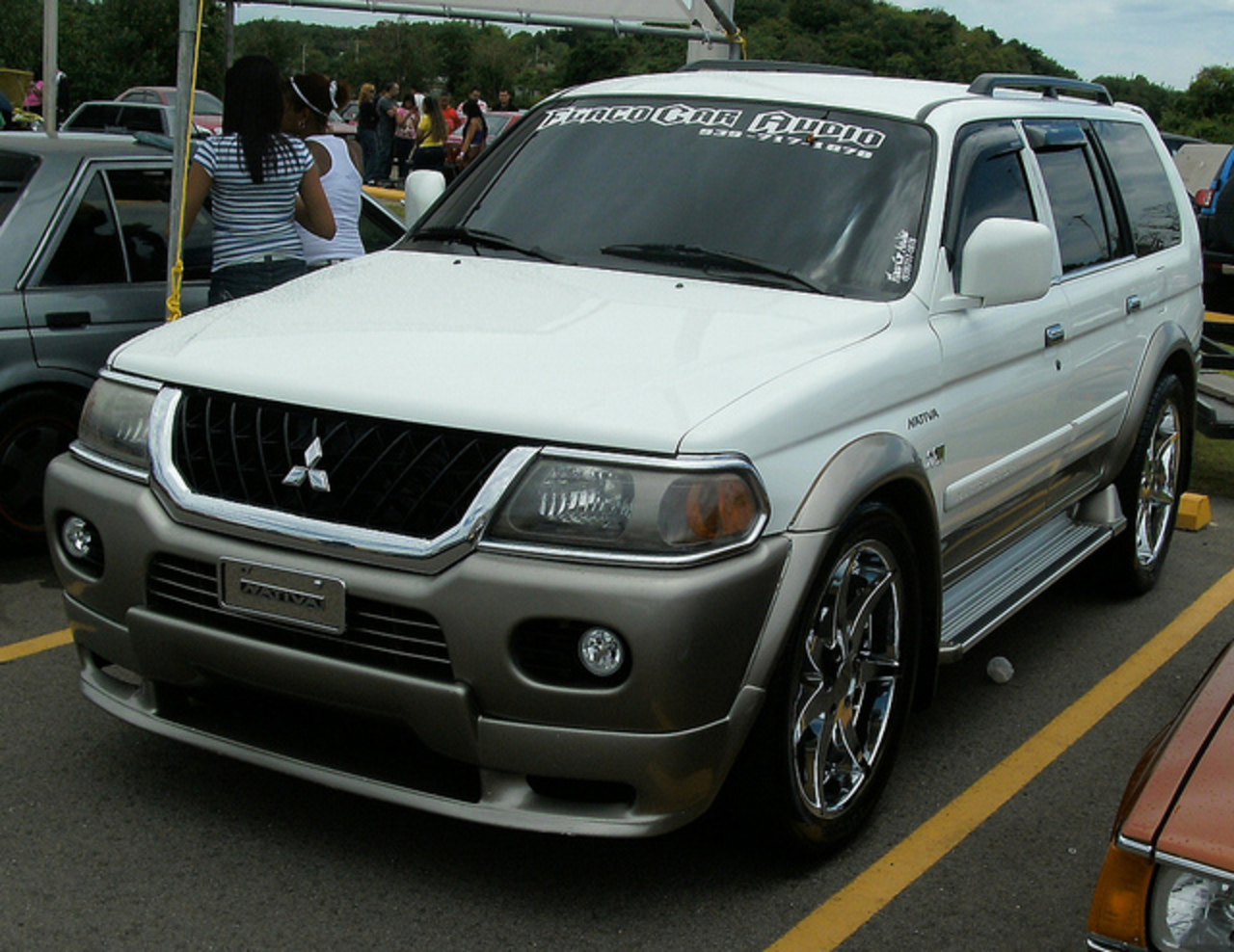 Custom Mitsubishi Nativa | Flickr - Photo Sharing!