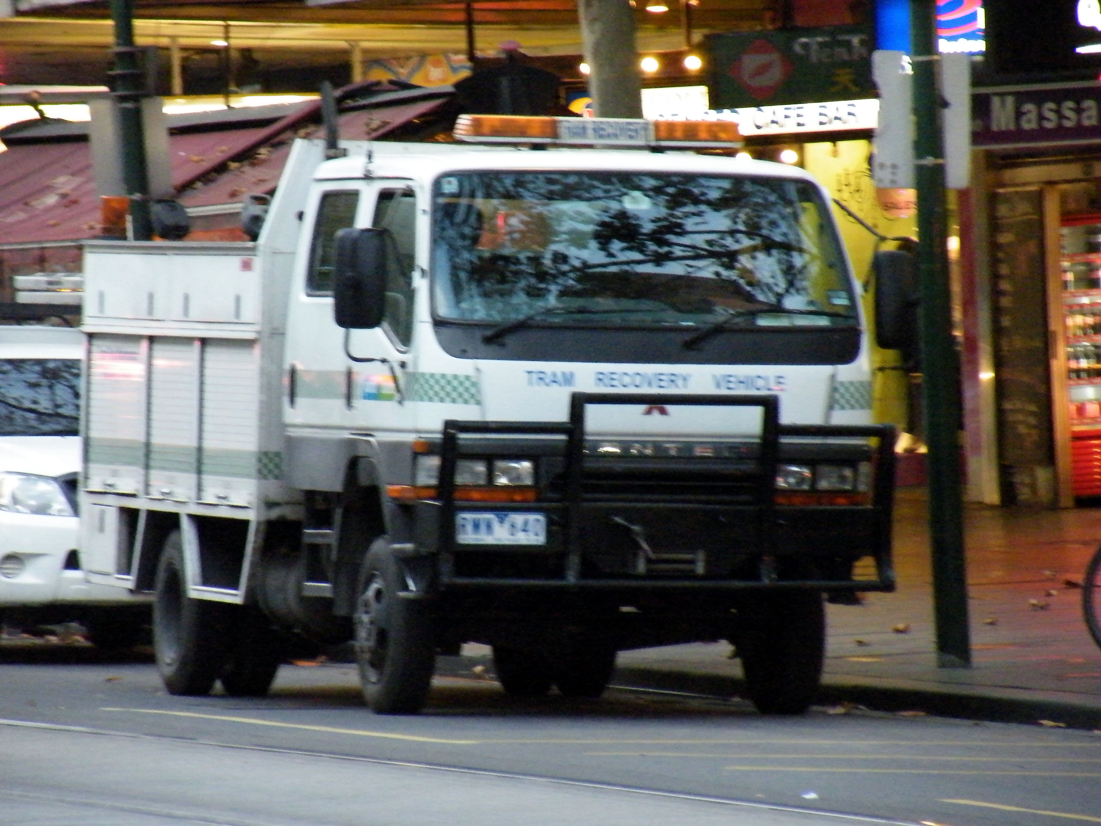 Yarra Trams Mitsubishi Canter tram recovery vehicle | Flickr ...