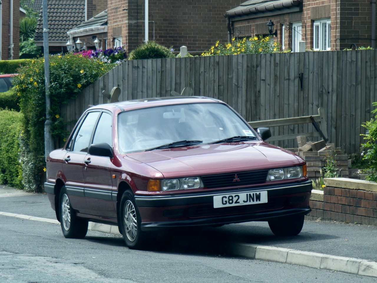 Mitsubishi Galant GLS | Flickr - Photo Sharing!