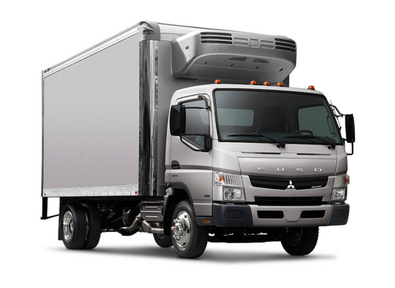 FUSO Canter reefer 3quarter front | Flickr - Photo Sharing!