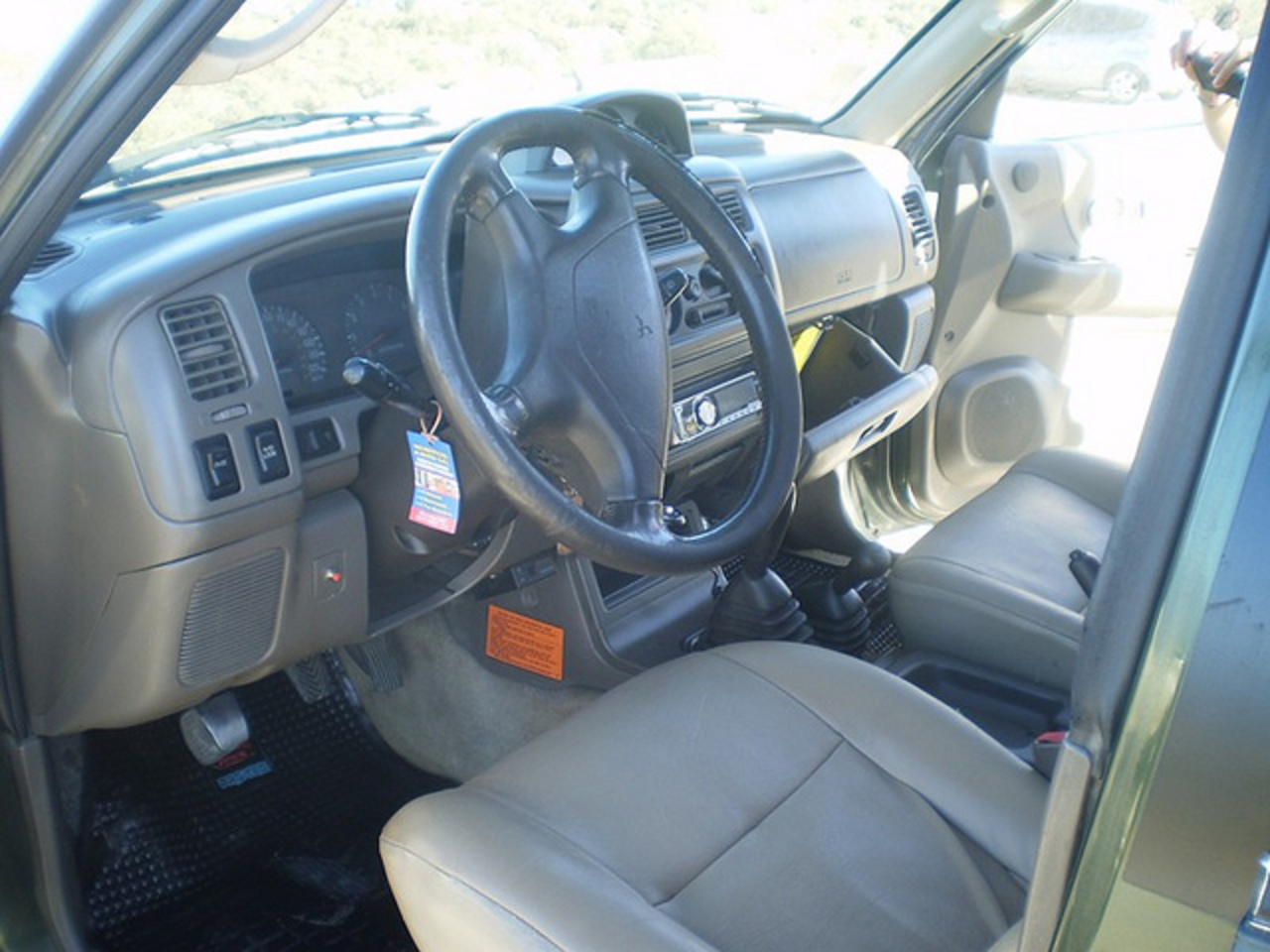 Mitsubishi Nativa 4x4 99 gnc full | Flickr - Photo Sharing!