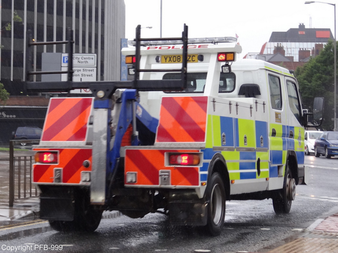 Humberside Police Mitsubishi Canter Recovery Truck | Flickr ...