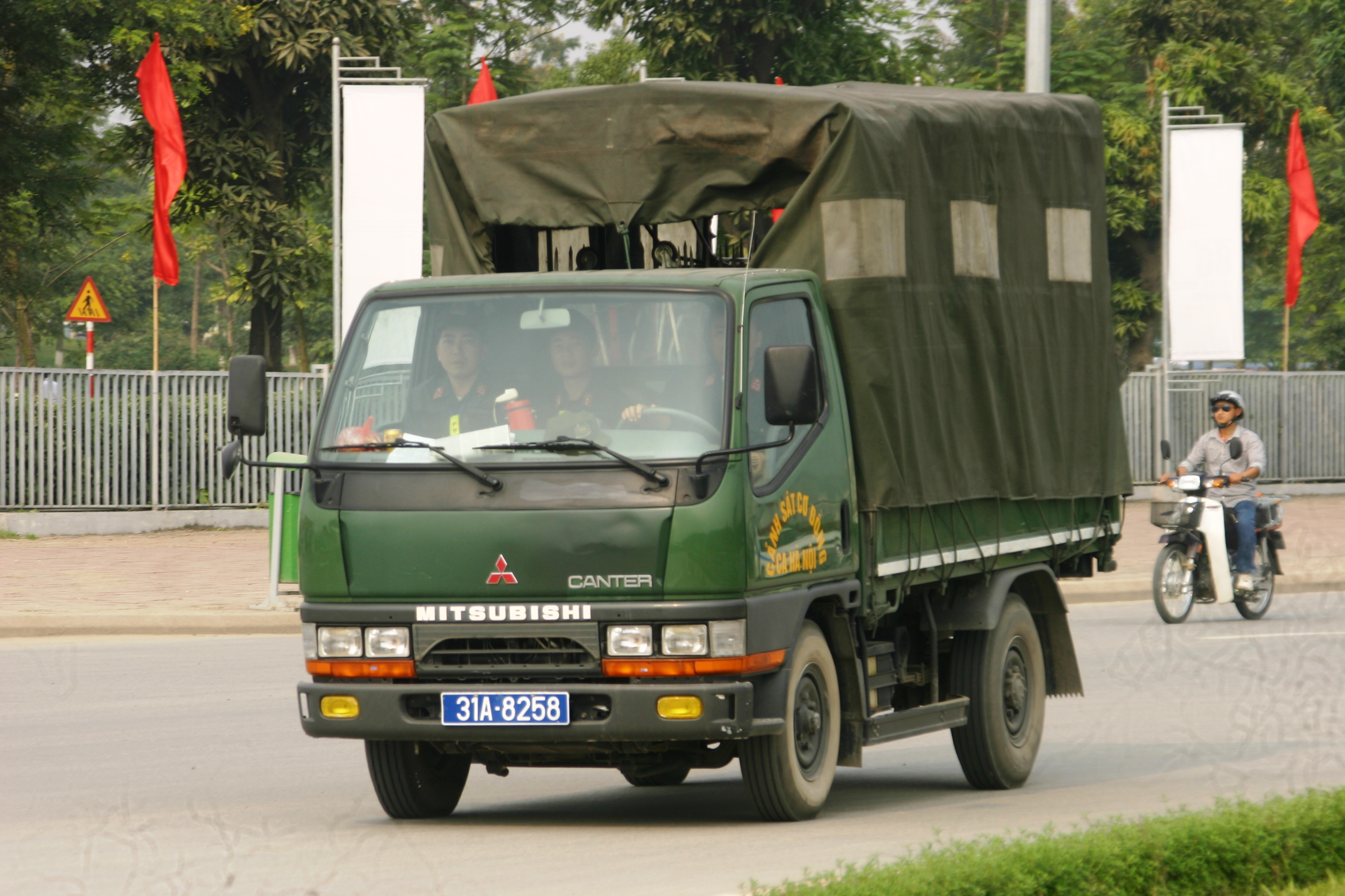 Mitsubishi Canter '31A-8258' - Vietnam Police | Flickr - Photo ...