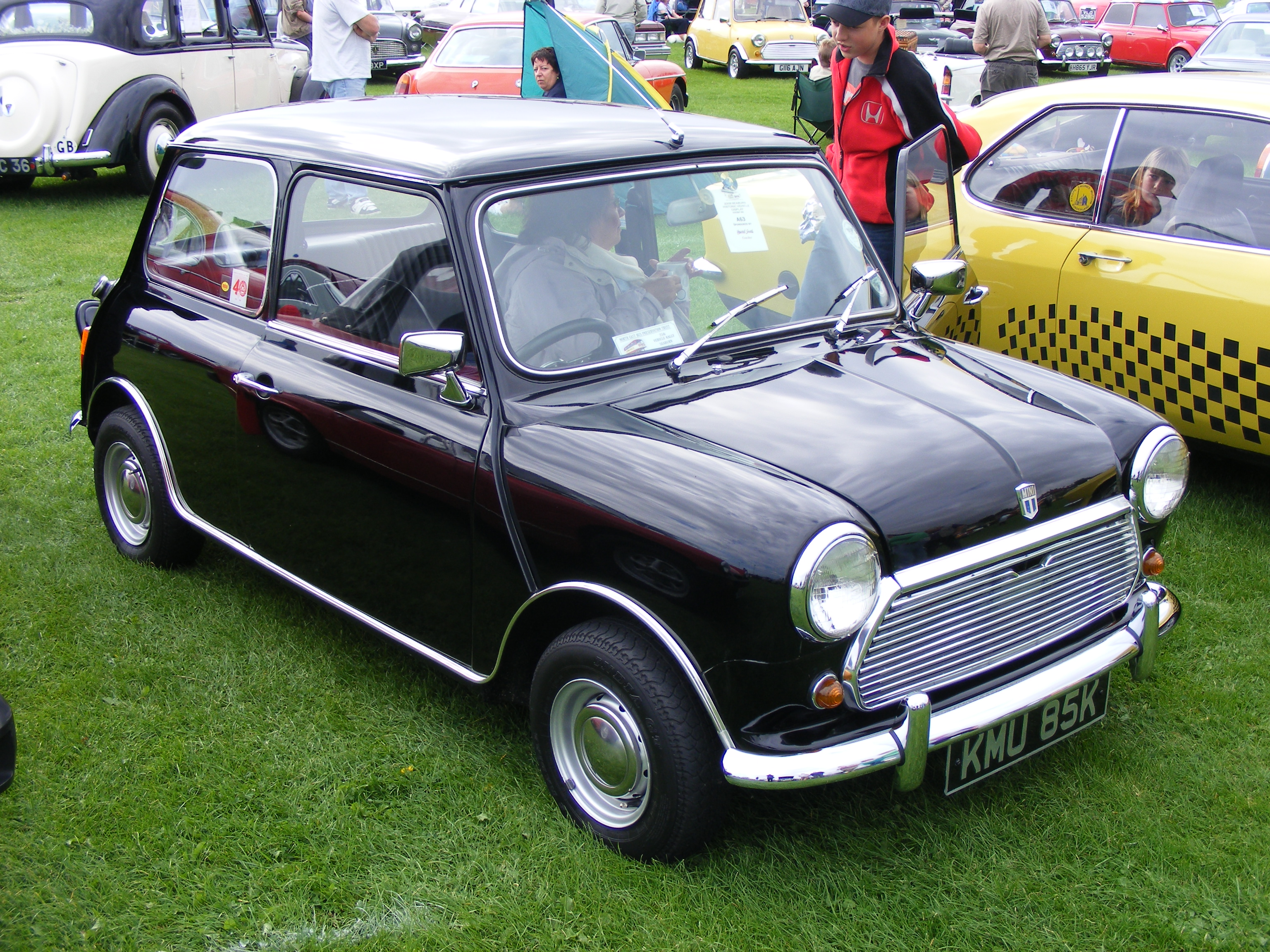 Mini: Morris Mini Cooper 'S' Mk II KMU85K Seaburn Historic Vehicle ...