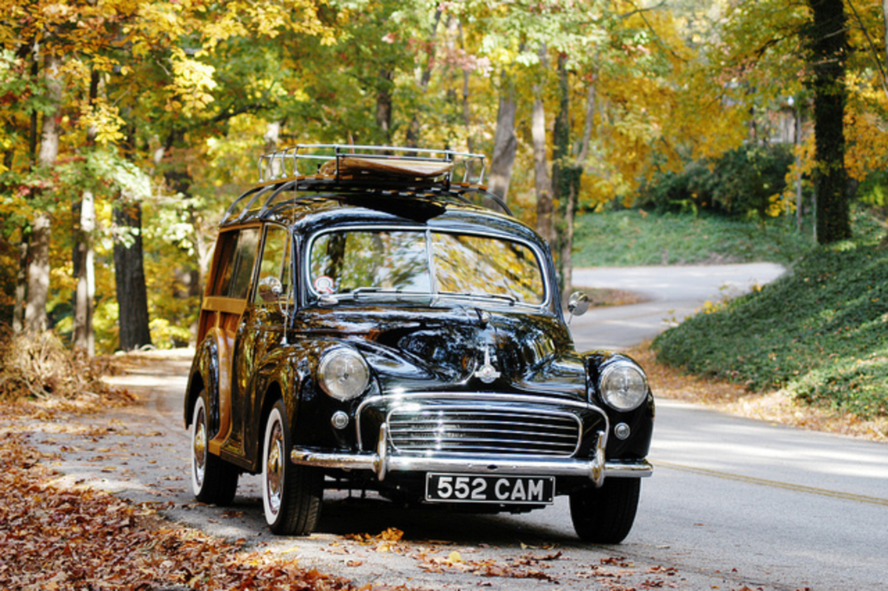 1955 Morris Minor Traveller II - winding road | Flickr - Photo ...