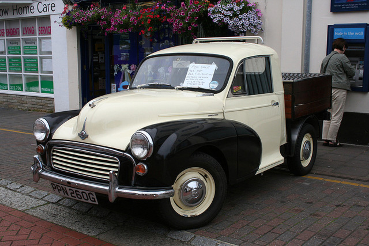 Morris Minor pick-up PPN 260G at Herne Bay rally,Kent,UK on 16th ...