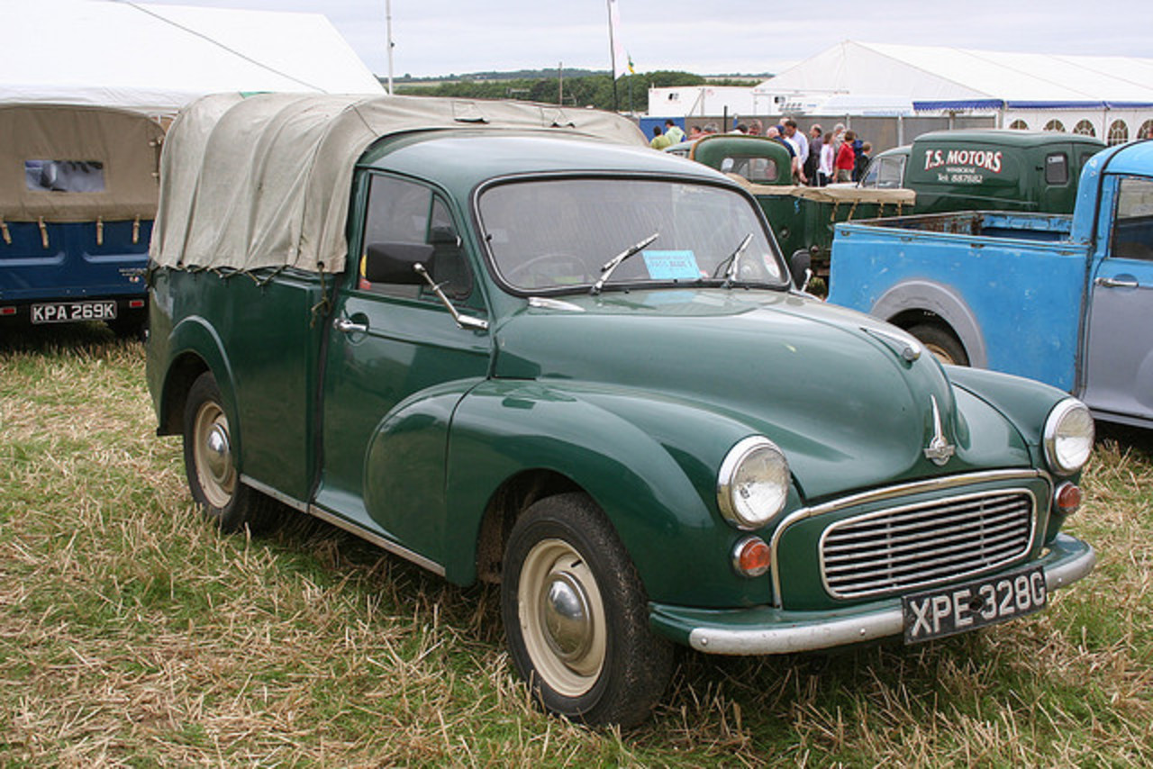 Austin/Morris Minor pick-up XPE 328G | Flickr - Photo Sharing!