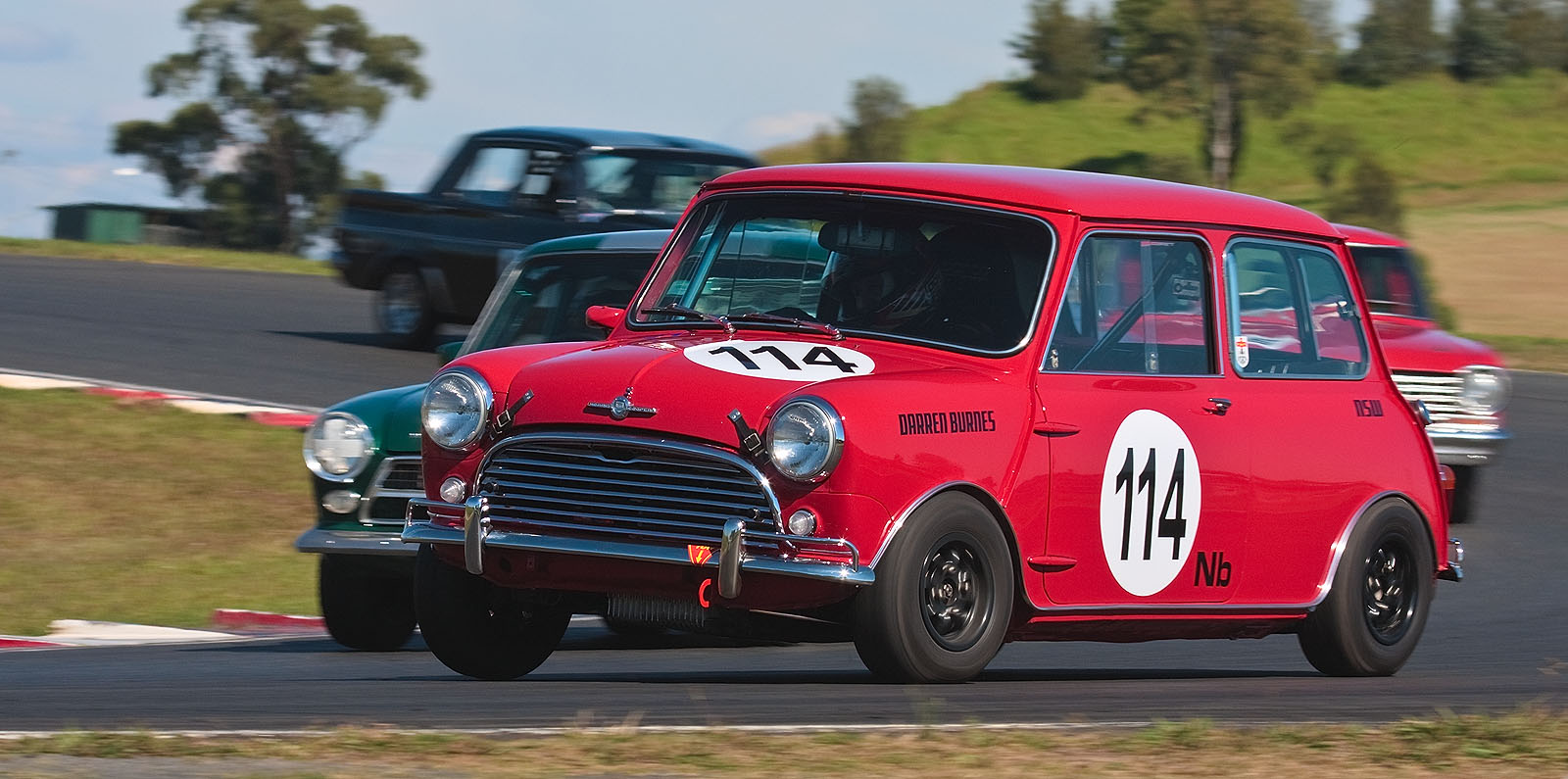 114 Darren Burnes 1964 Morris Mini Cooper S | Flickr - Photo Sharing!
