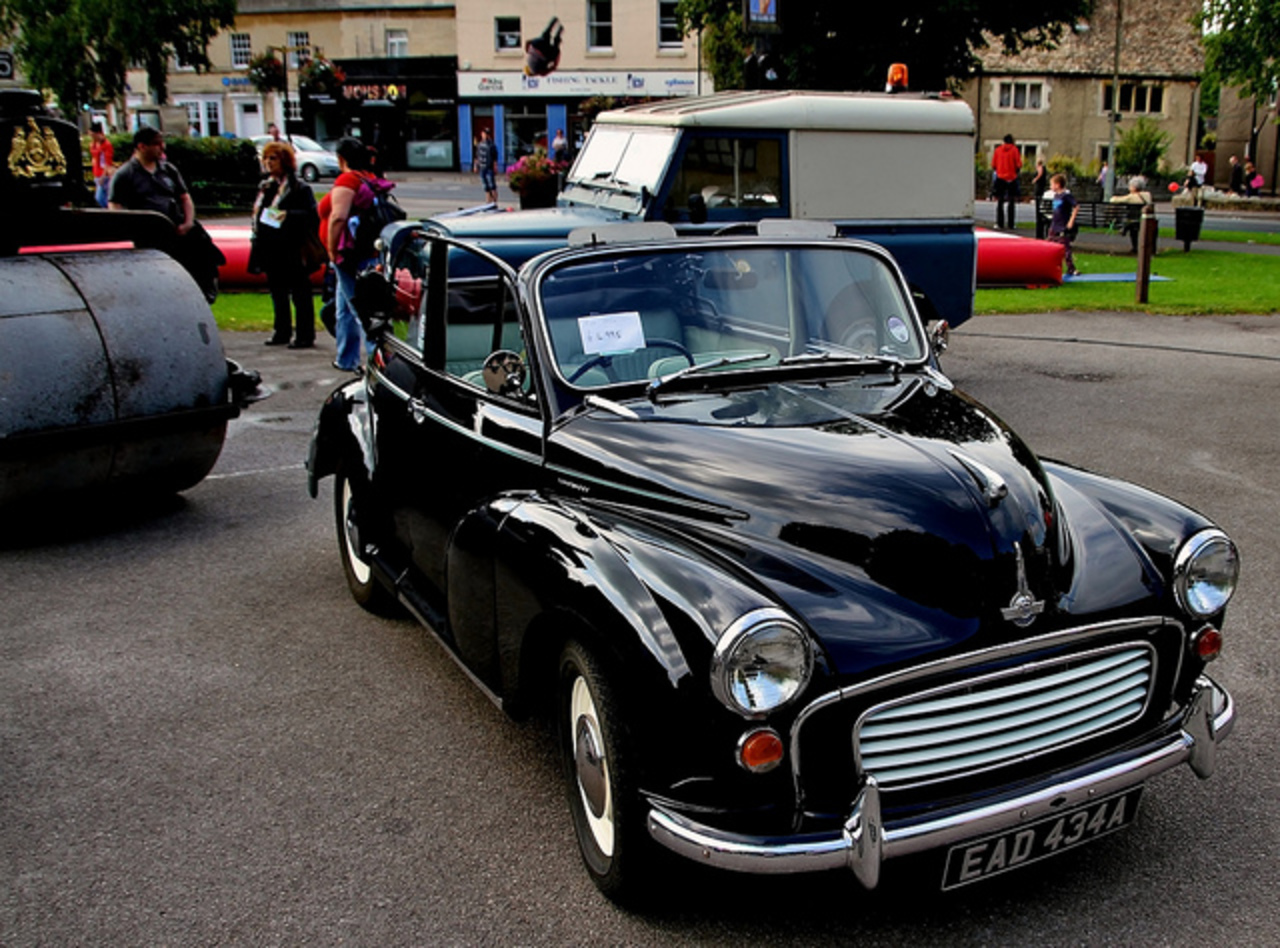 The classic Morris Minor 1000 Convertible | Flickr - Photo Sharing!