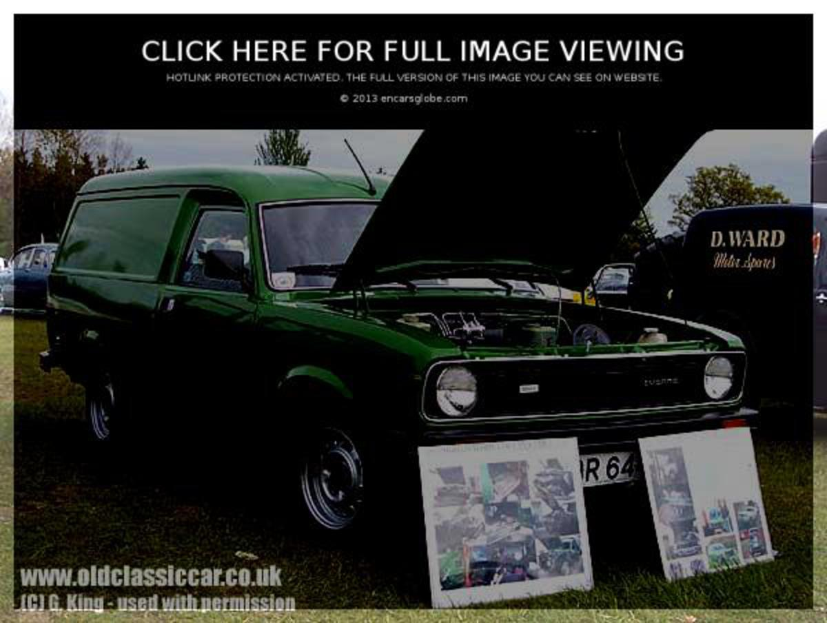 Morris Marina Van: Photo gallery, complete information about model ...