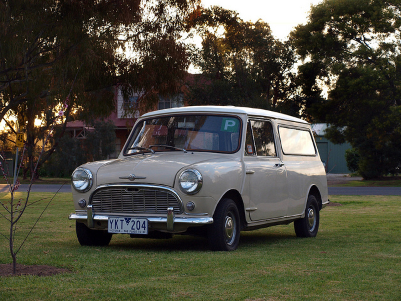 1968 Morris Mini Panel Van | Flickr - Photo Sharing!