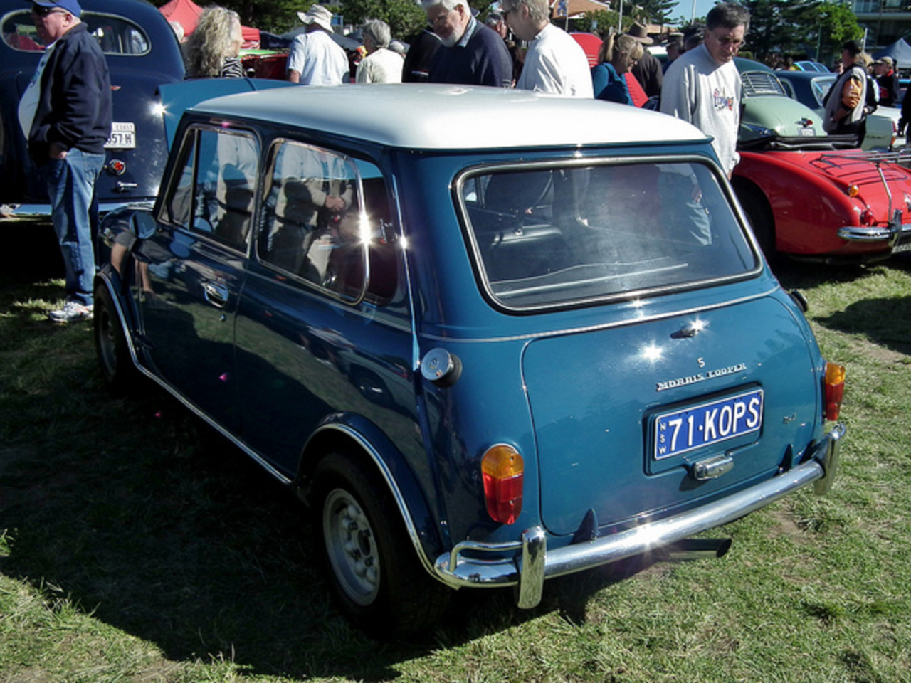 1971 Morris Mini Cooper S Mk II sedan | Flickr - Photo Sharing!