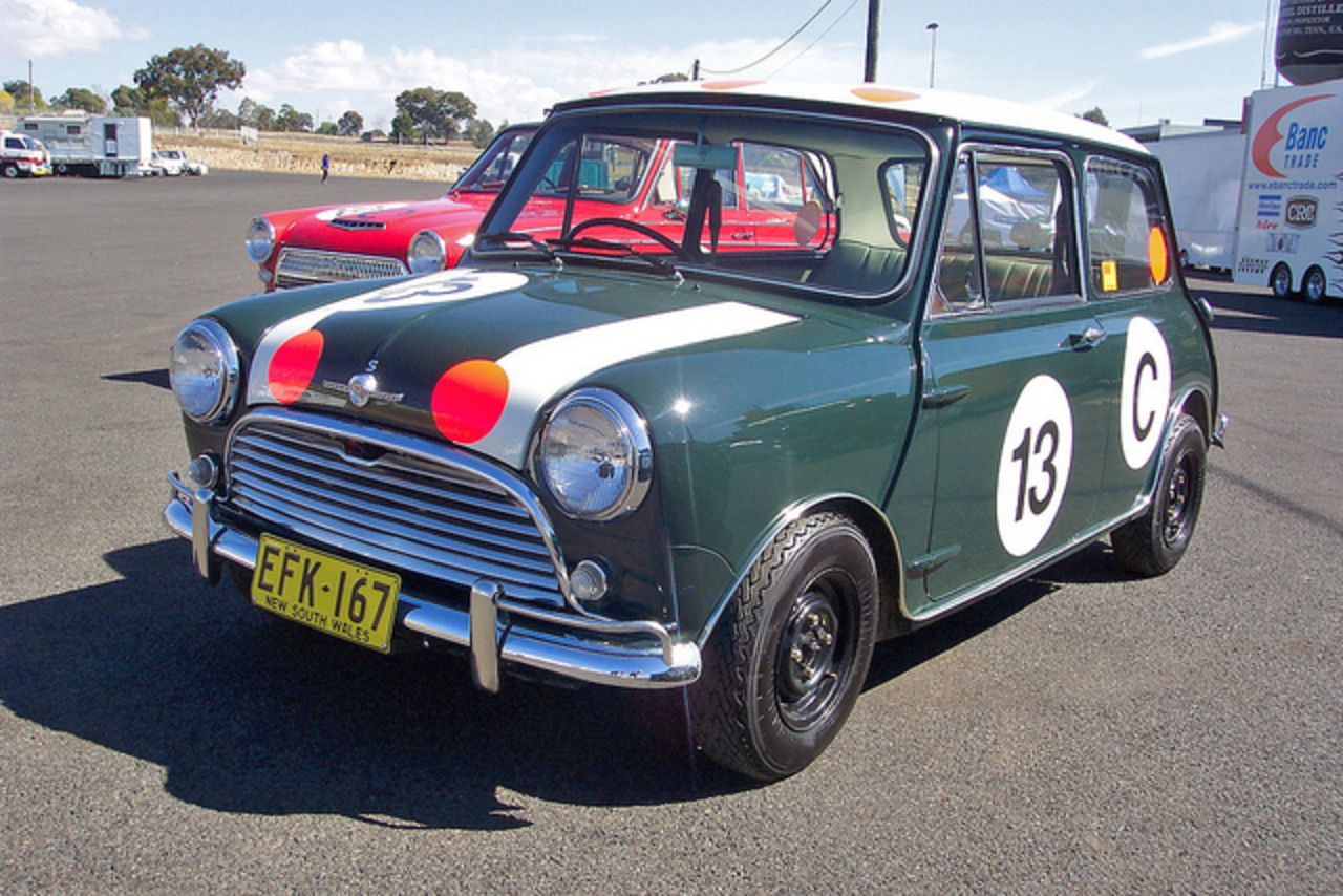 1966 Morris Mini Cooper S - 1966 Gallaher 500 winner | Flickr ...