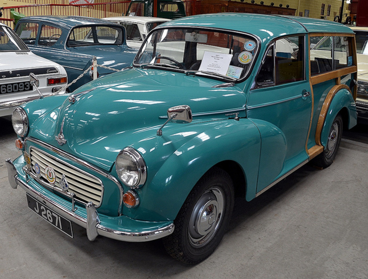 1971 Morris Minor Traveller | Flickr - Photo Sharing!