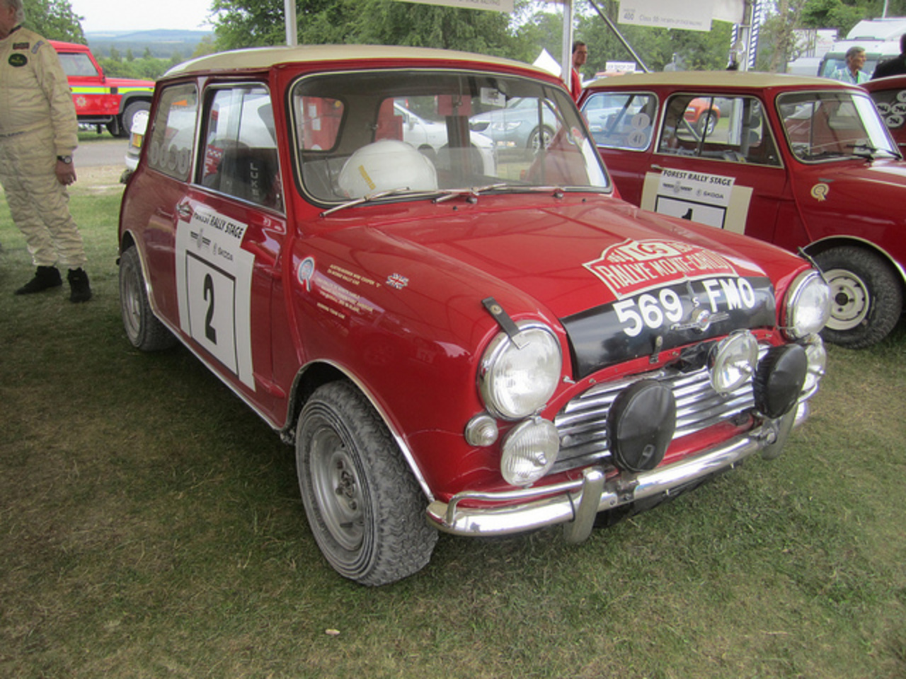 1963 Morris Mini Cooper S Rally Car | Flickr - Photo Sharing!
